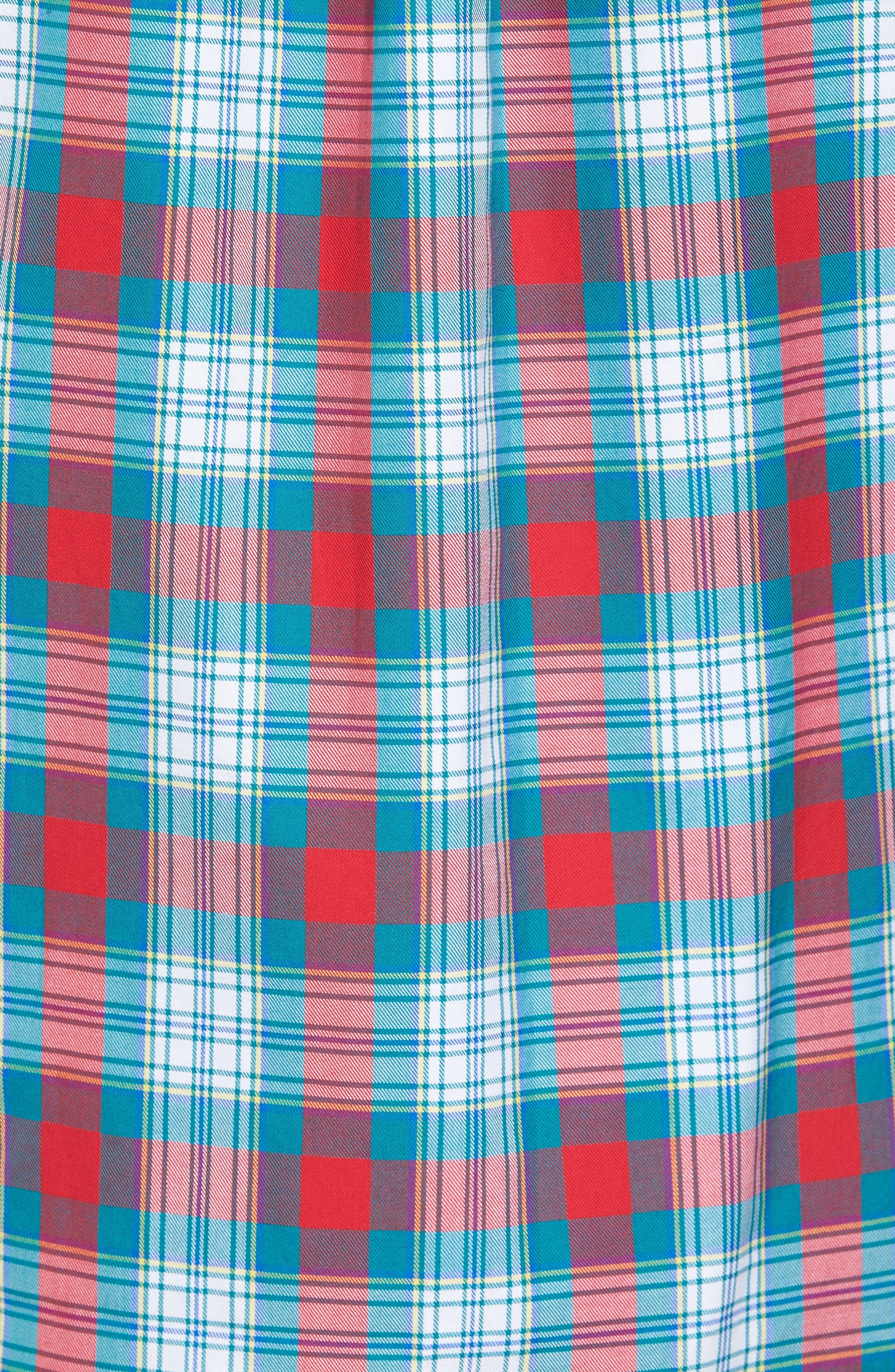 Elmwood Classic Fit Plaid Sport Shirt,                             Alternate thumbnail 5, color,                             351
