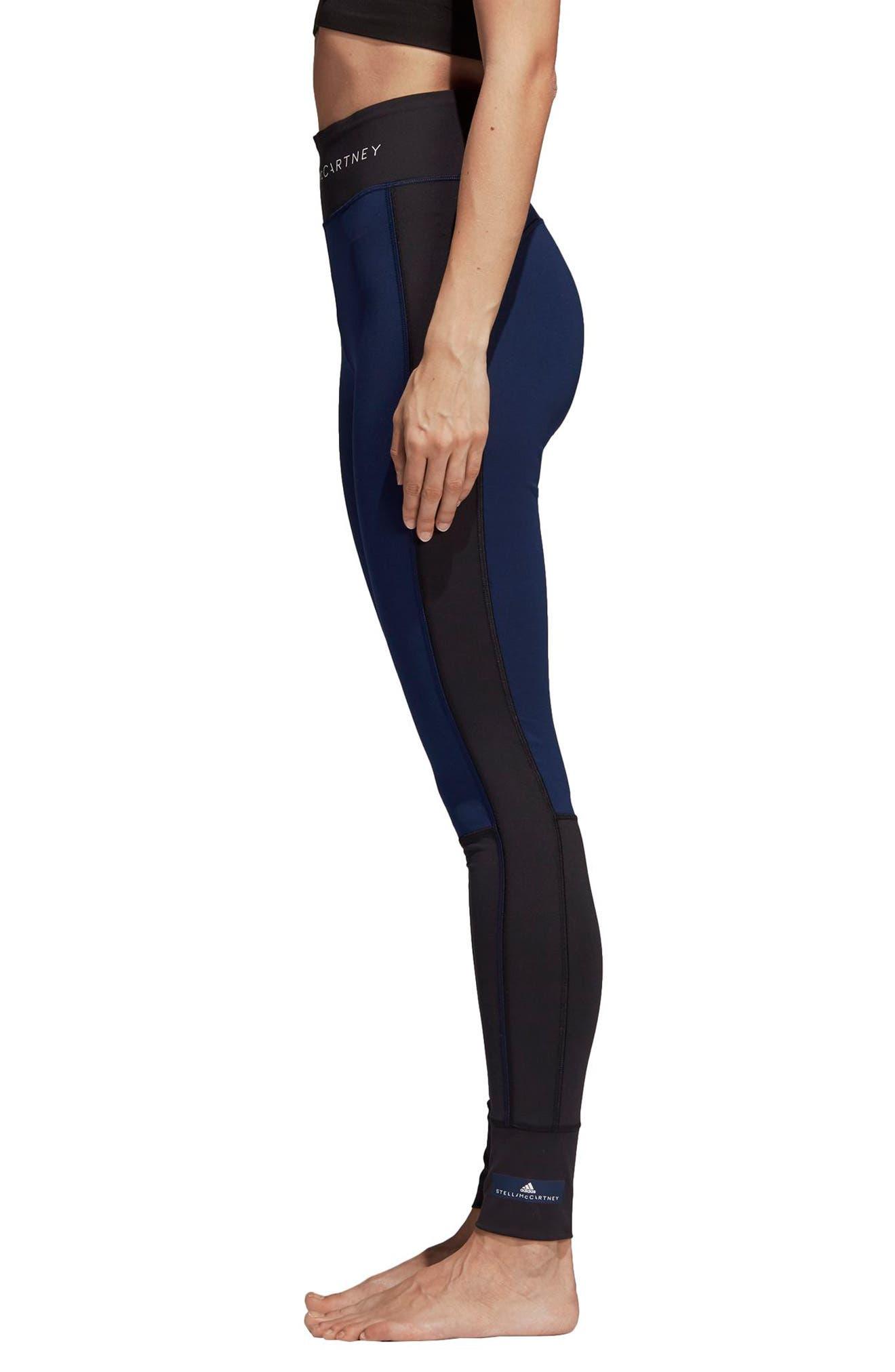 Yoga Comfort Performance Tights,                             Alternate thumbnail 3, color,                             BLACK/ NIND