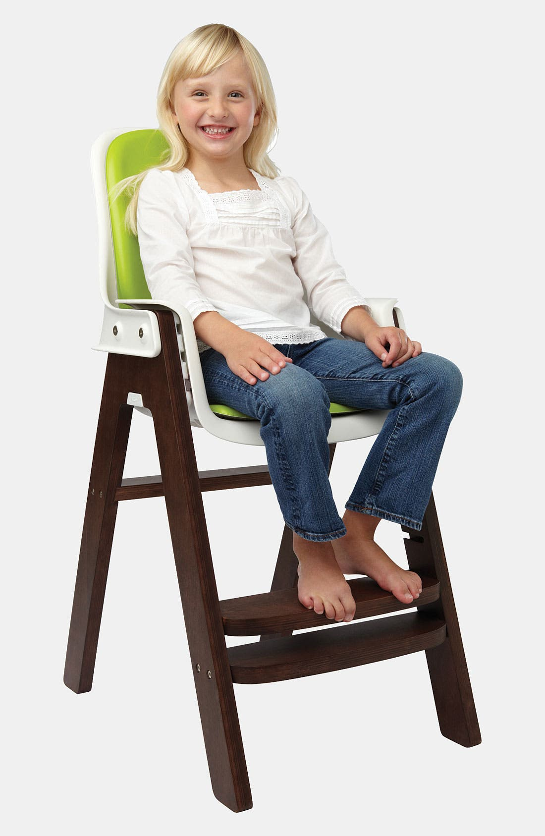 'Sprout' Chair,                             Alternate thumbnail 9, color,                             GREEN/ WALNUT