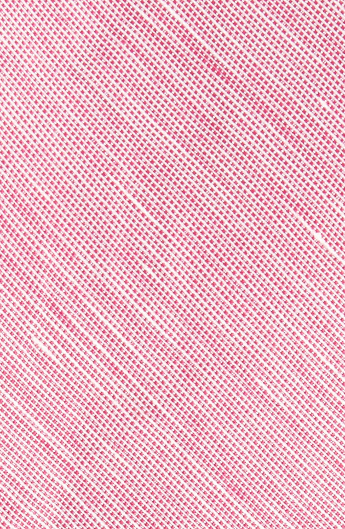 Adena Solid Silk Blend Skinny Tie,                             Alternate thumbnail 12, color,