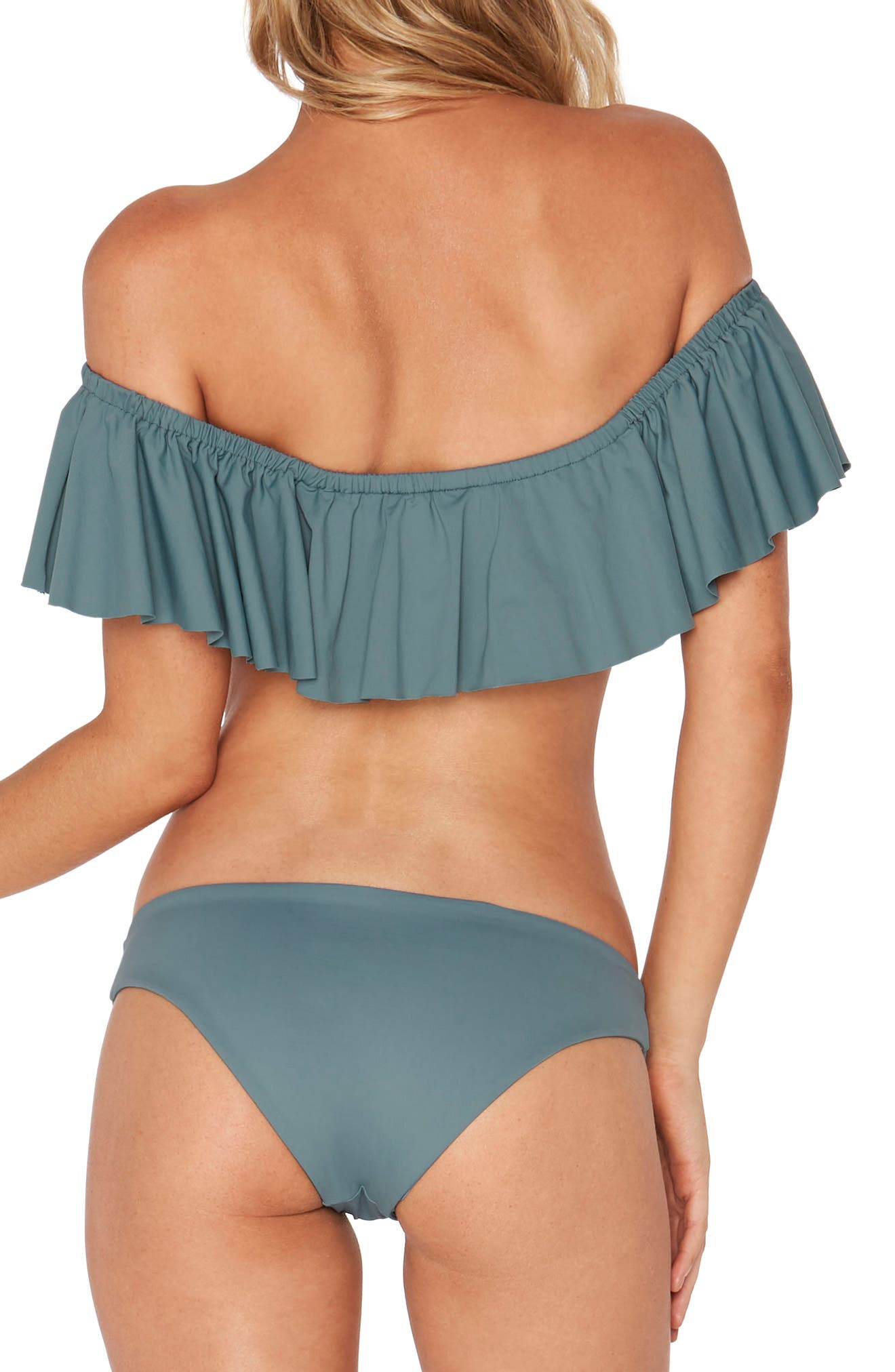 Ruffle Swim Top,                             Alternate thumbnail 2, color,                             440