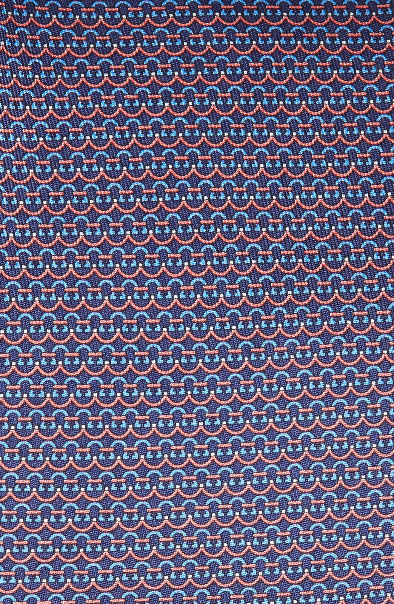 Gancini Silk Tie,                             Alternate thumbnail 2, color,                             420