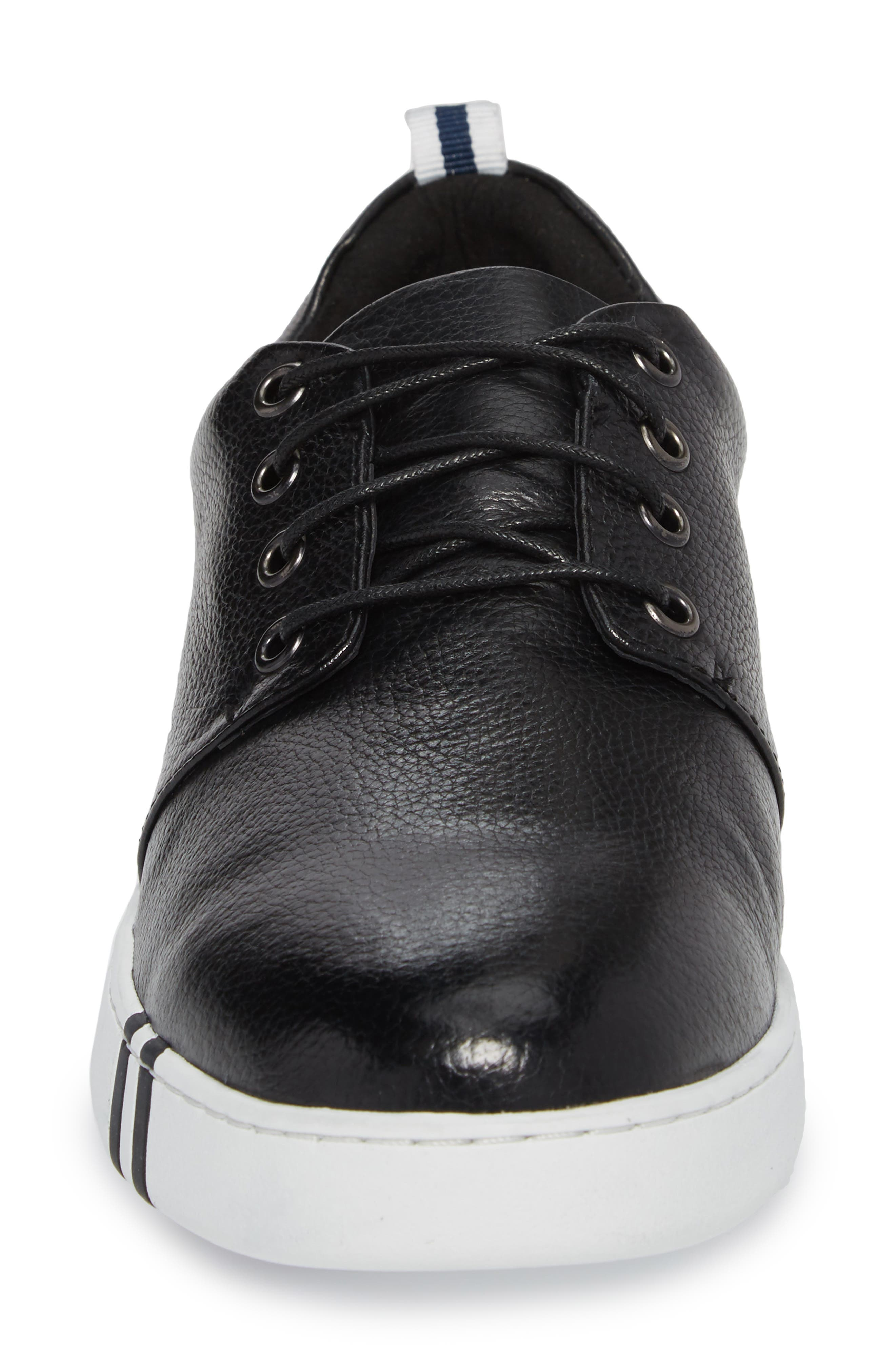 Kings Low Top Sneaker,                             Alternate thumbnail 4, color,                             001