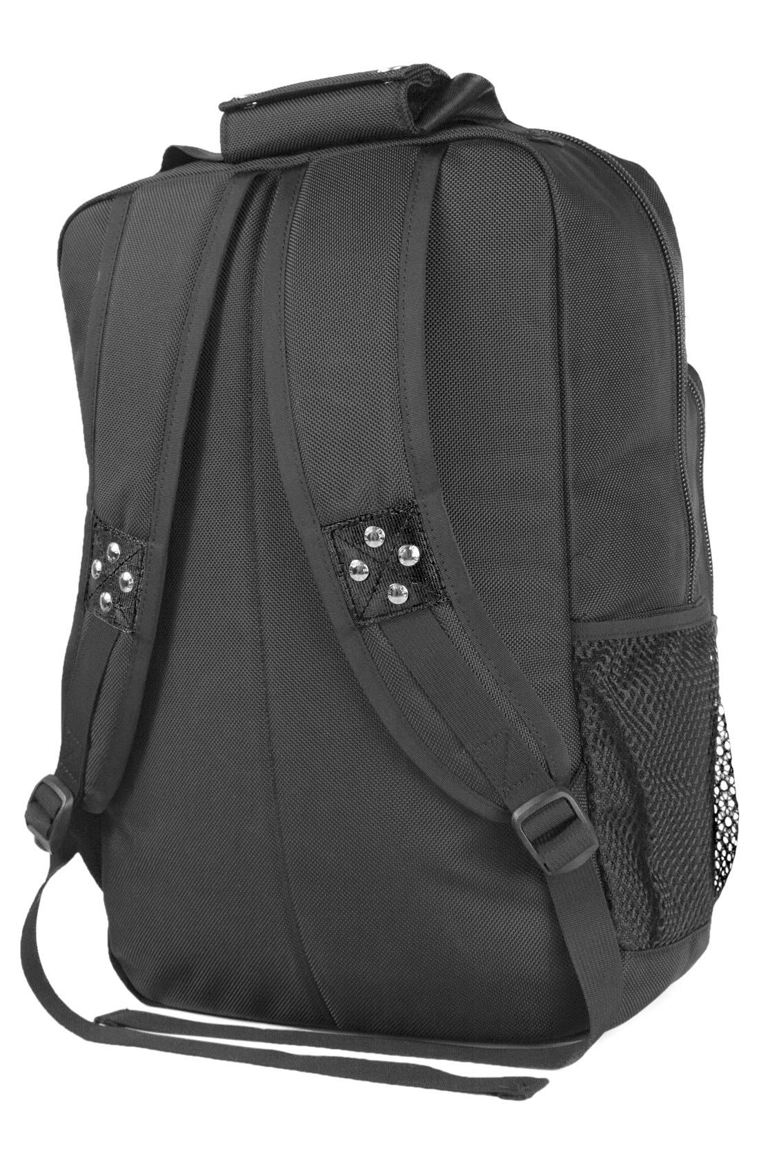 'TRS Ballistic - Executive' Backpack,                             Alternate thumbnail 4, color,                             BLACK/ BLACK