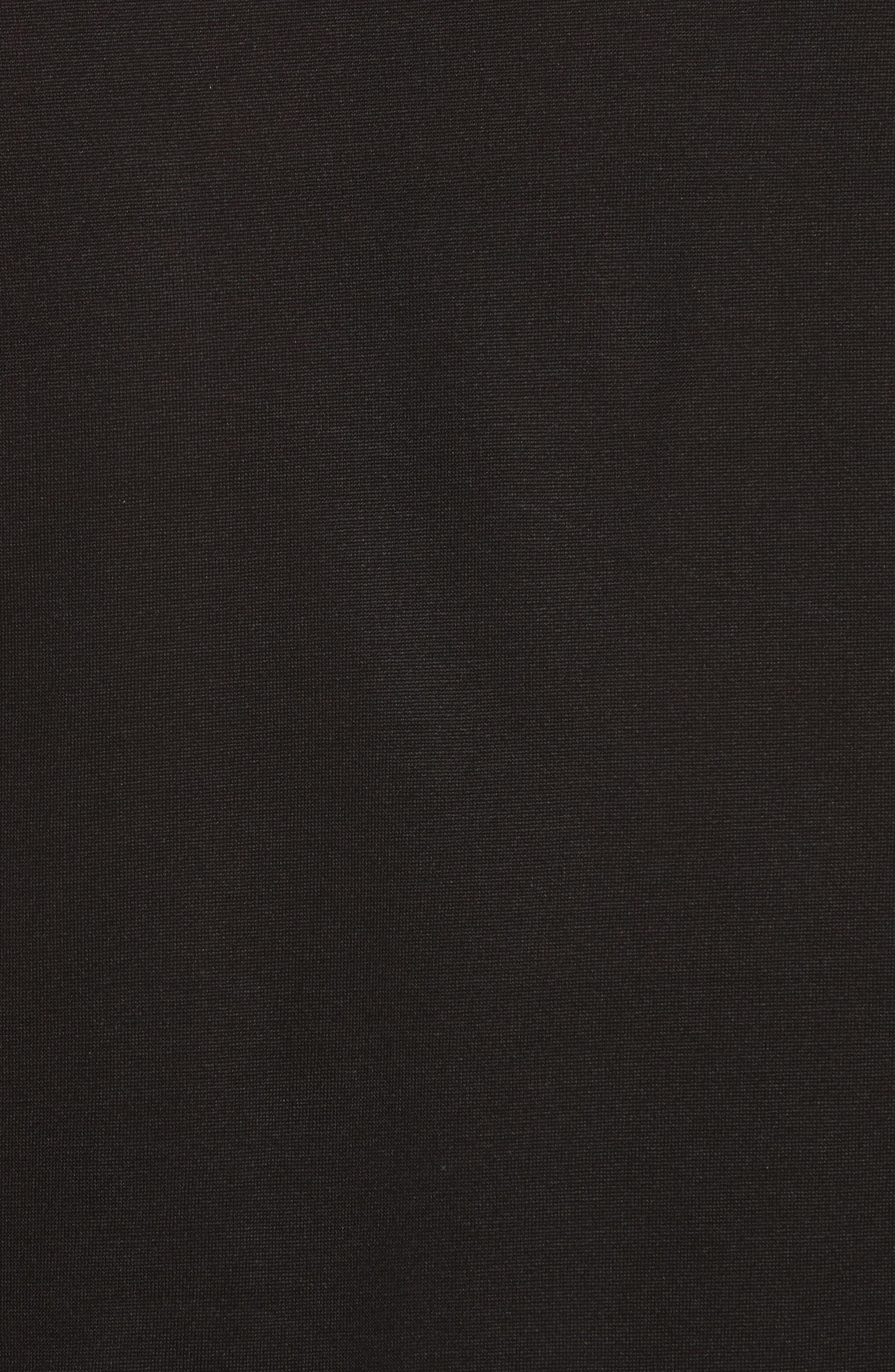 Silk Jersey T-Shirt,                             Alternate thumbnail 5, color,                             001