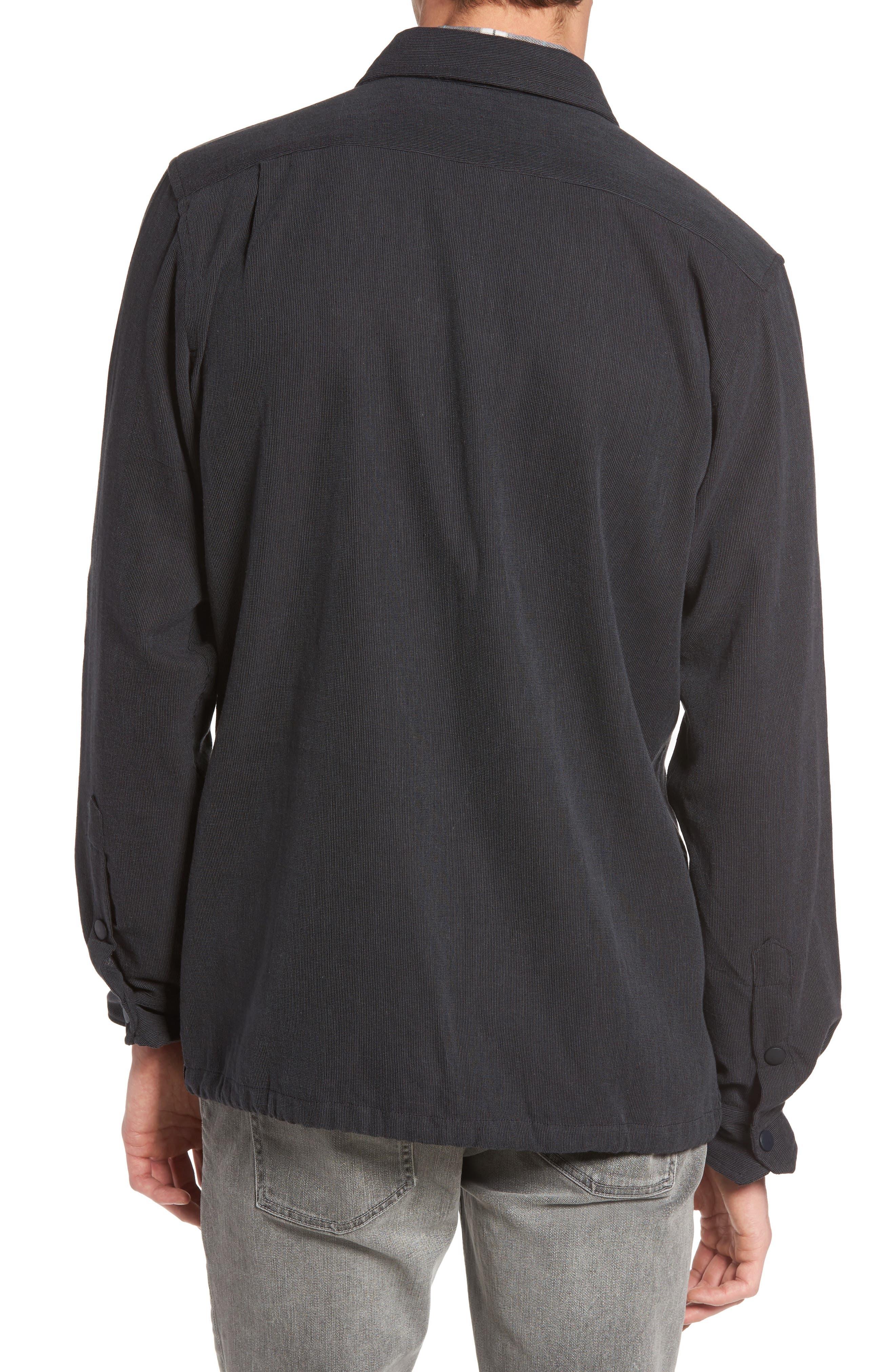 Textured Cotton Coach's Jacket,                             Alternate thumbnail 2, color,                             001