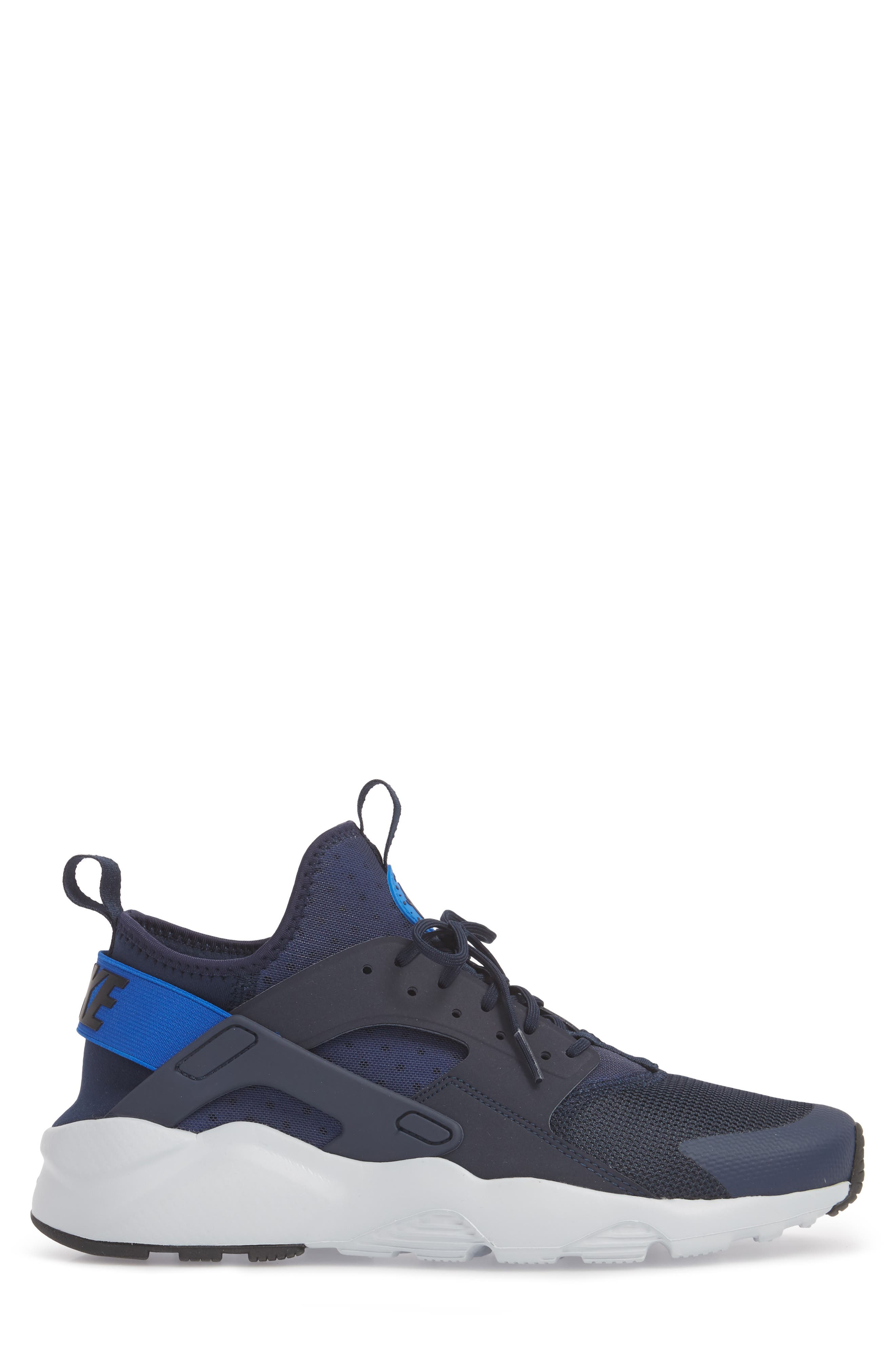 Air Huarache Run Ultra Sneaker,                             Alternate thumbnail 3, color,                             412