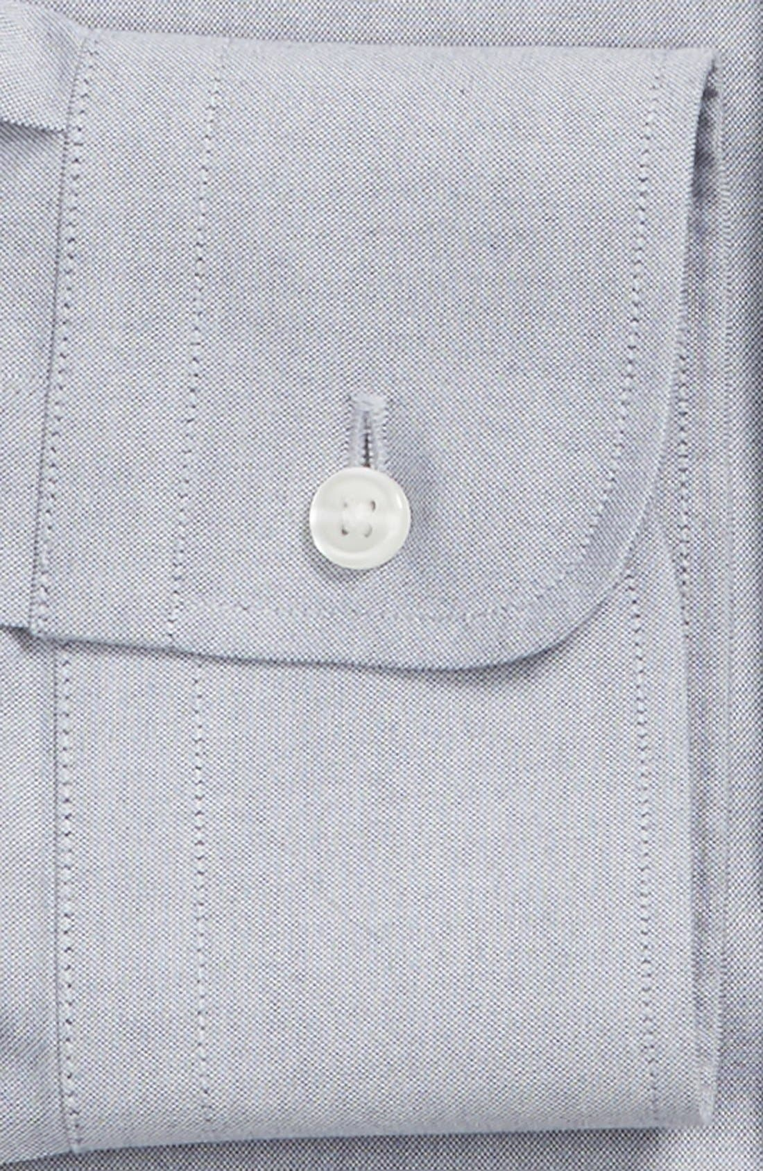 Smartcare<sup>™</sup> Traditional Fit Pinpoint Dress Shirt,                             Alternate thumbnail 54, color,