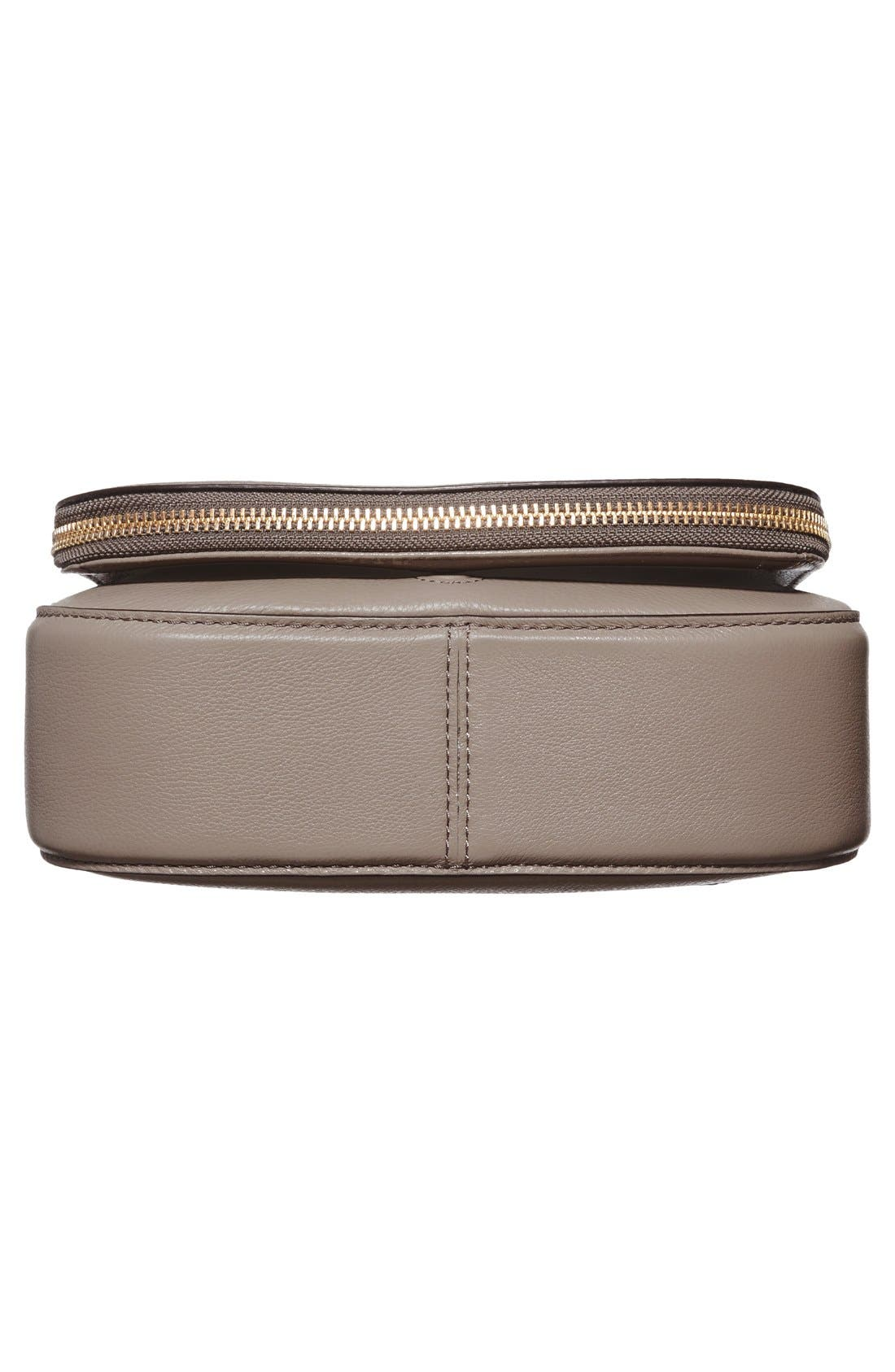 Small Recruit Nomad Pebbled Leather Crossbody Bag,                             Alternate thumbnail 61, color,