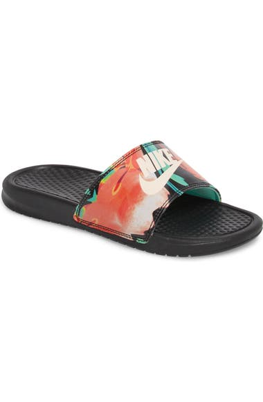 Nike  Benassi - Just Do It  Print Sandal (Women)  bd5b2d04d1a