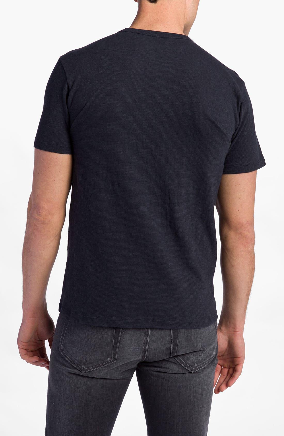 'Chicago Cubs' Regular Fit Crewneck T-Shirt,                             Alternate thumbnail 40, color,
