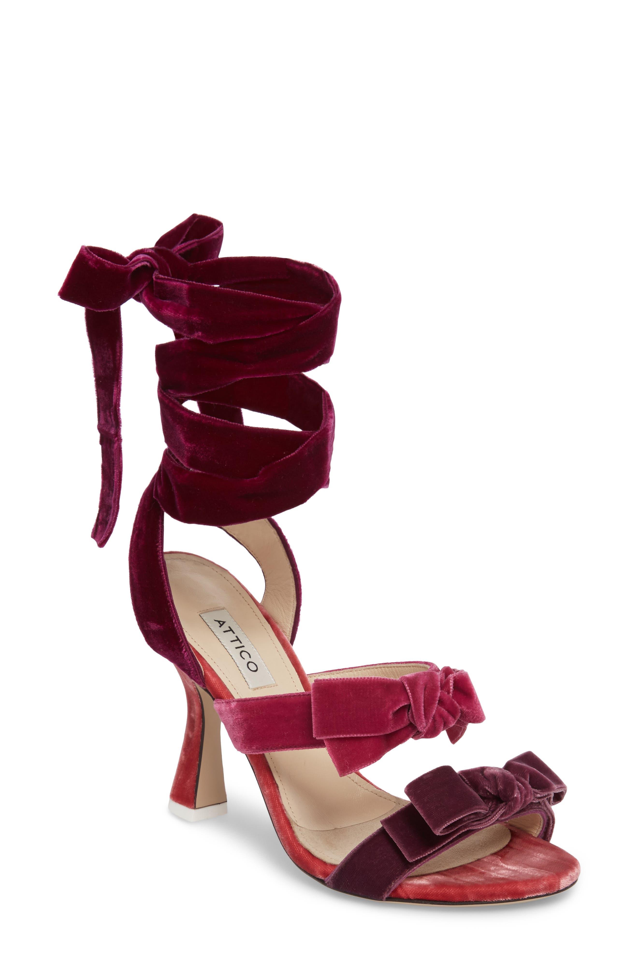 Diletta Ankle Wrap Sandal,                             Main thumbnail 1, color,                             500