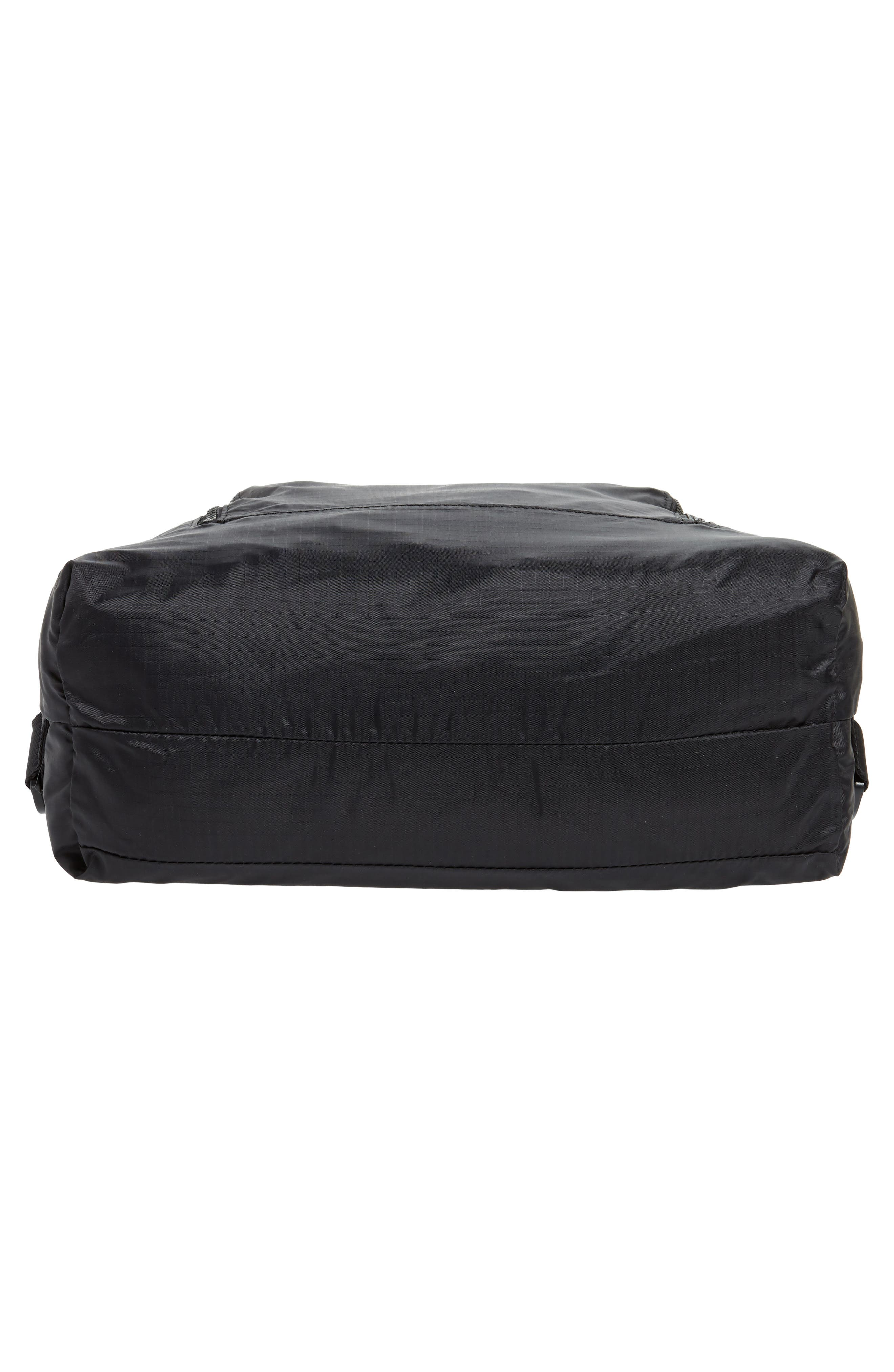 Packable Convertible Backpack,                             Alternate thumbnail 7, color,                             BLACK