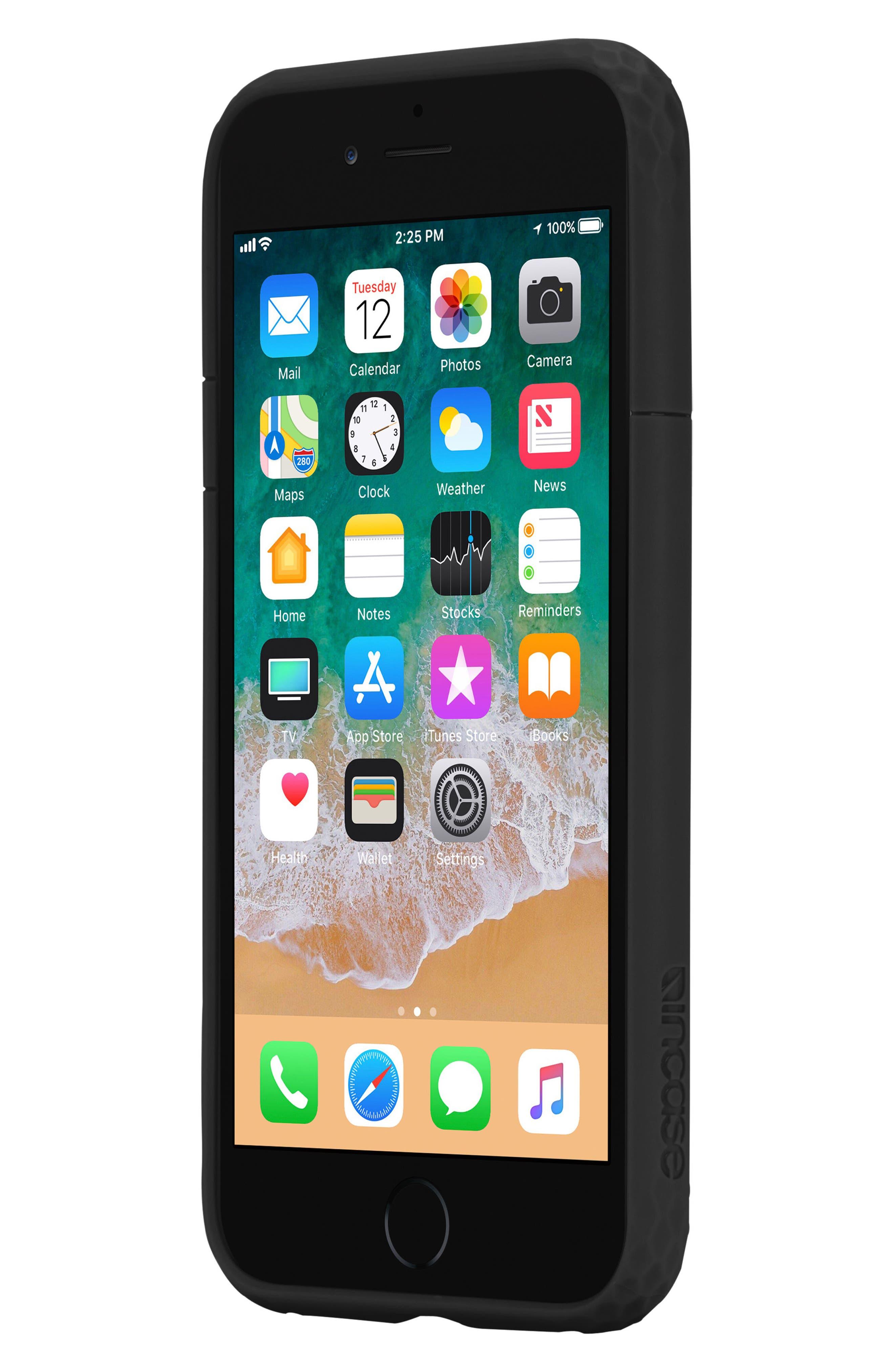 Frame iPhone 7/8 Case,                             Alternate thumbnail 8, color,                             BLACK