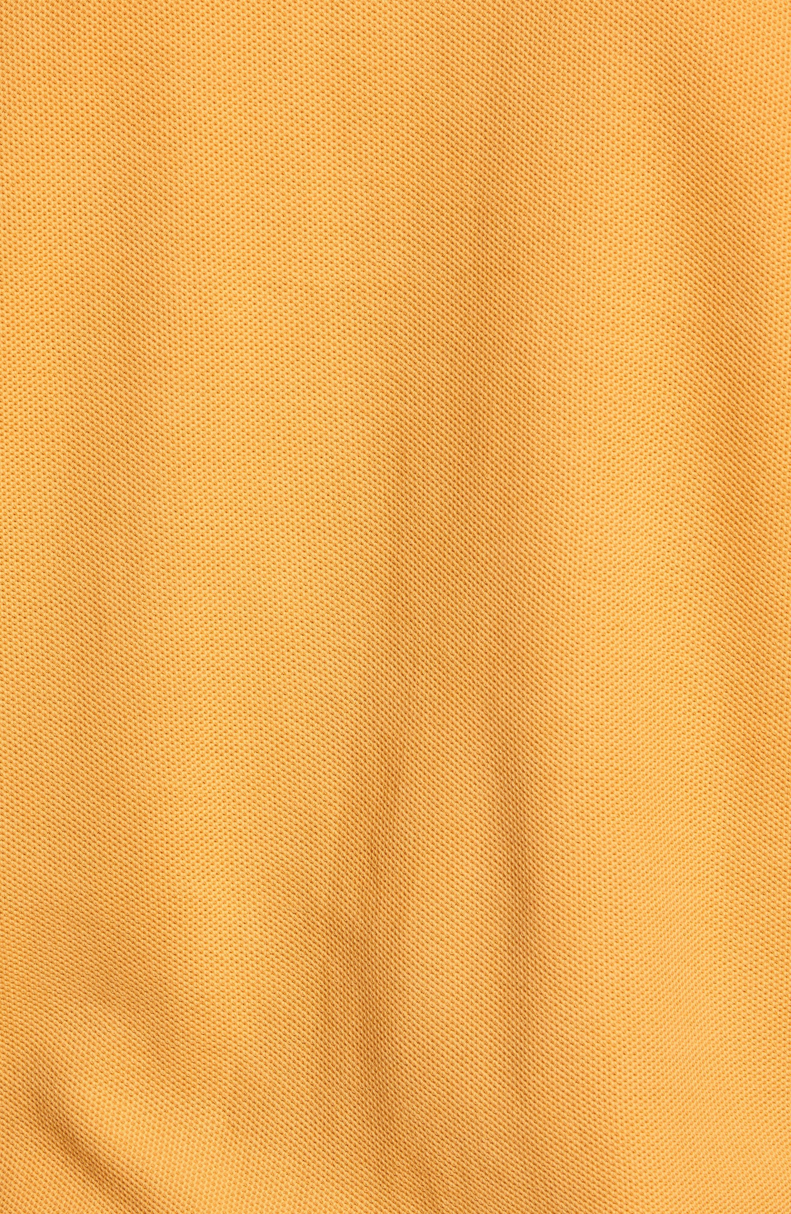 Solid Piqué Polo,                             Alternate thumbnail 5, color,                             GOLD