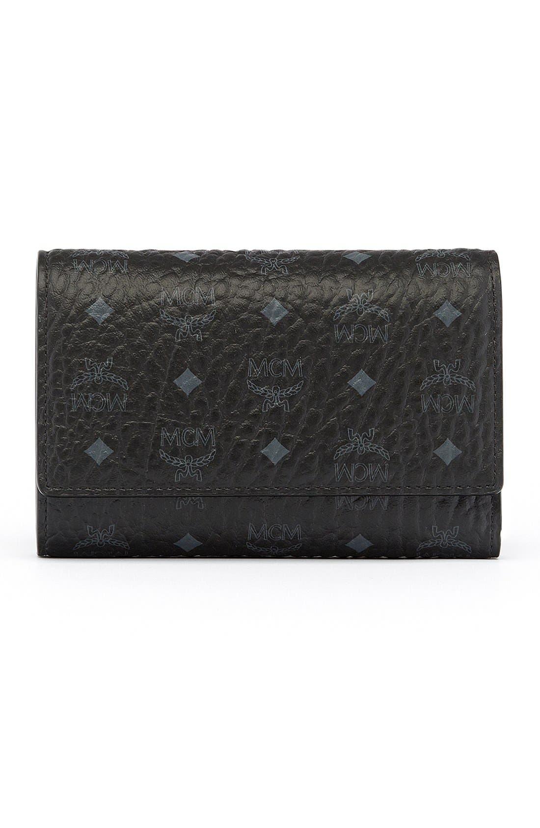 'Visetos' Trifold Wallet,                             Main thumbnail 1, color,                             001