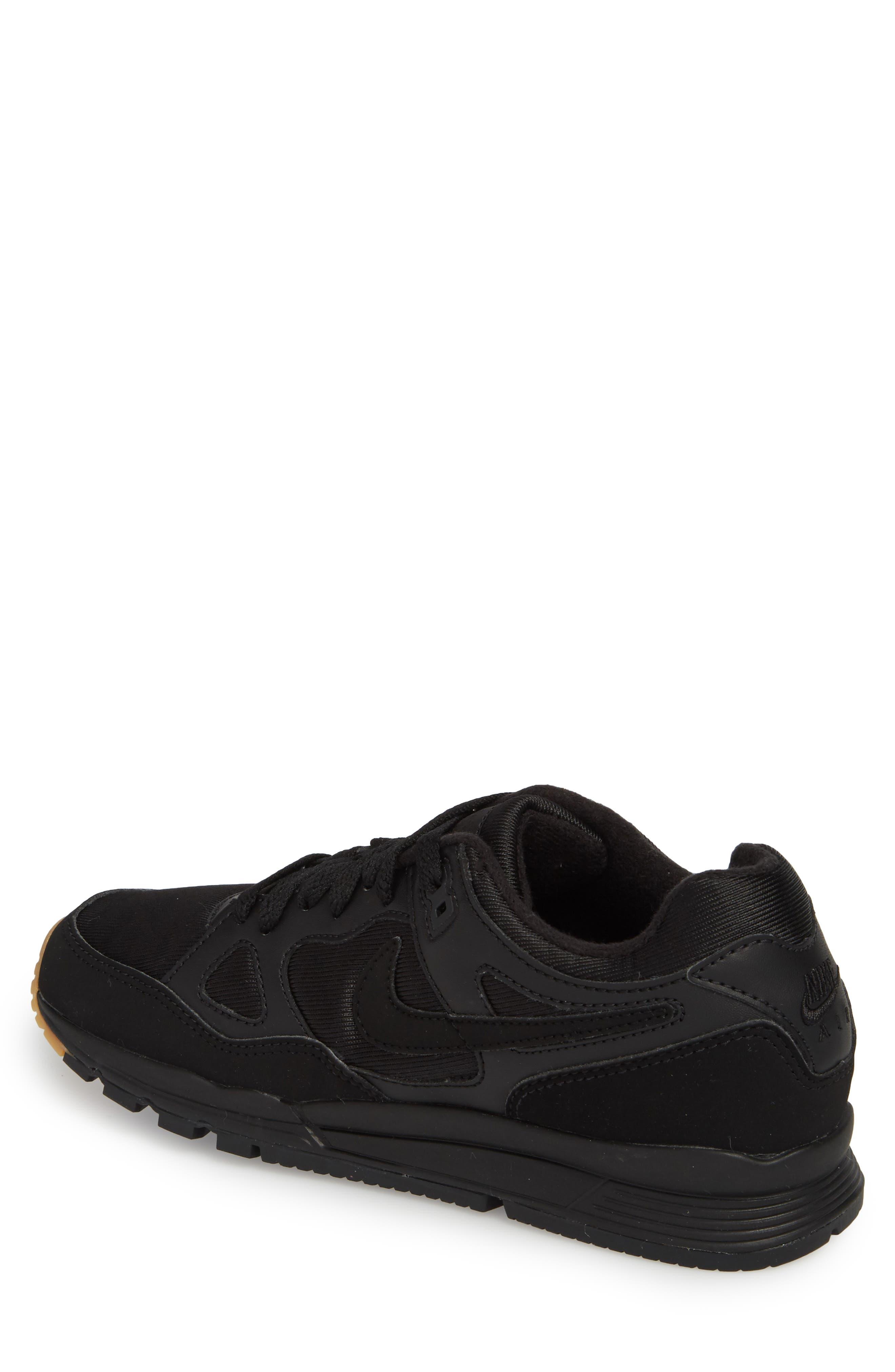Air Span II Sneaker,                             Alternate thumbnail 2, color,                             BLACK/ BLACK/ BLACK