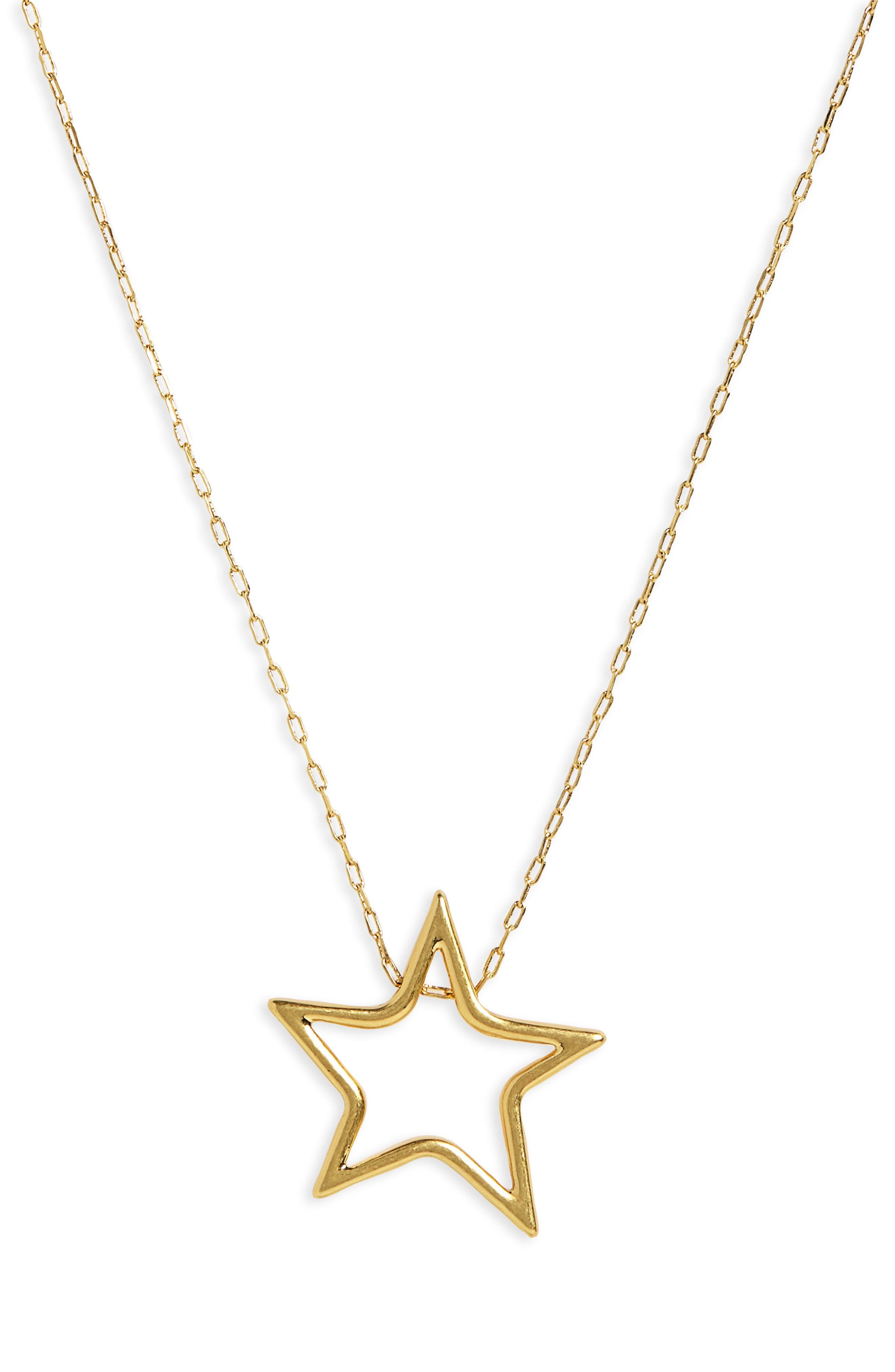 MADEWELL,                             Night Star Necklace,                             Alternate thumbnail 2, color,                             VINTAGE GOLD