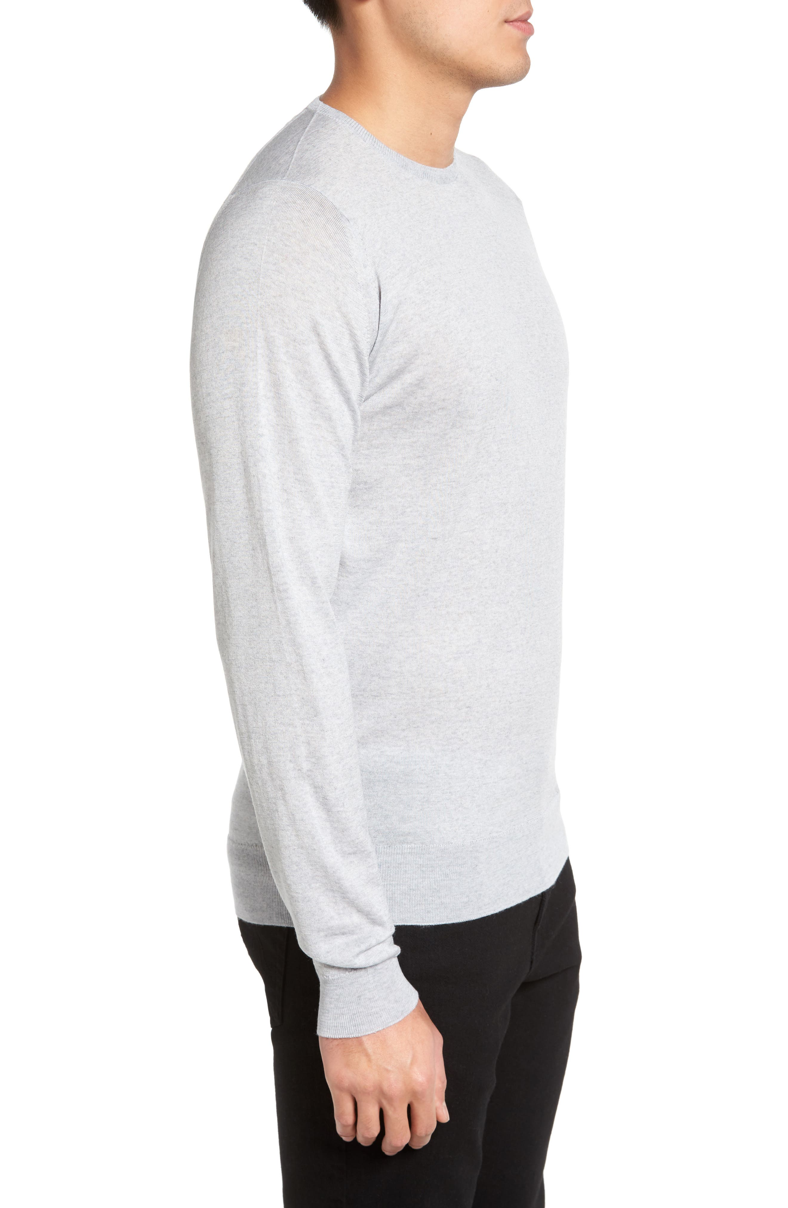 Merino Wool Sweater,                             Alternate thumbnail 9, color,