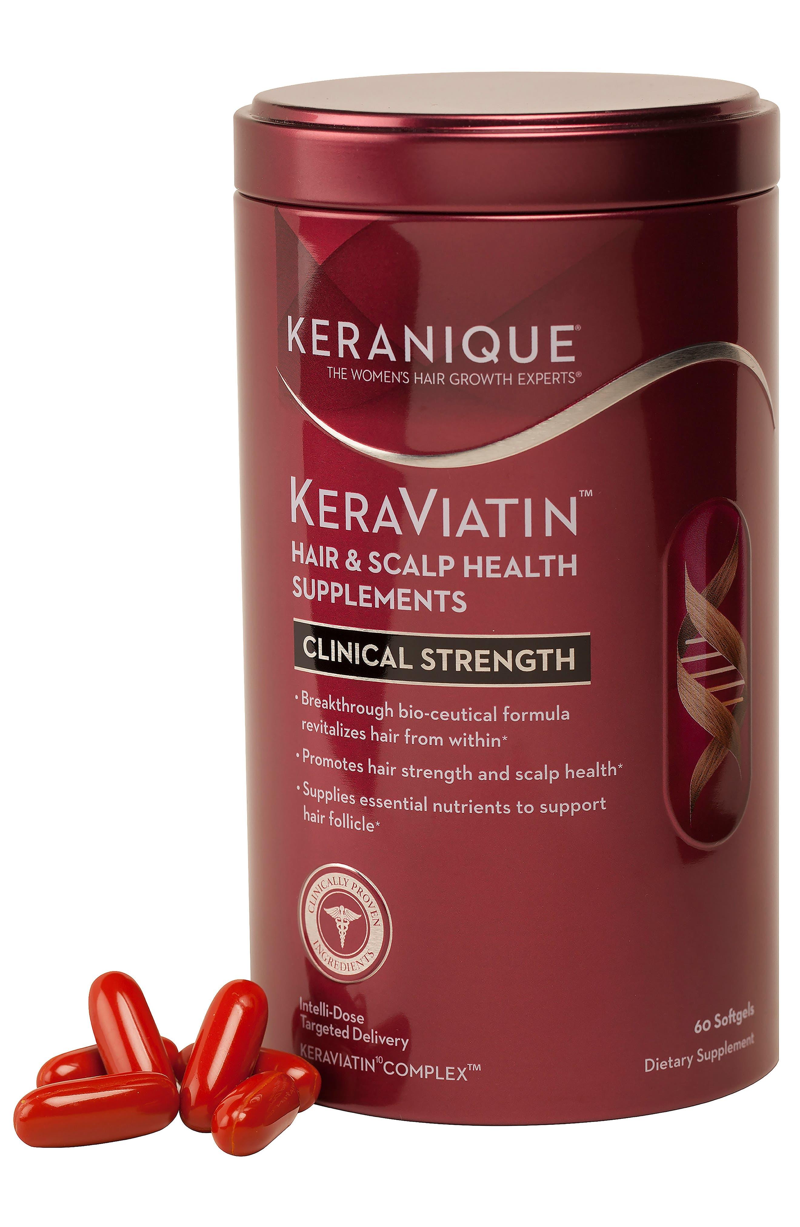 KeraViatin Hair & Scalp Health Supplements,                             Alternate thumbnail 2, color,                             NO COLOR