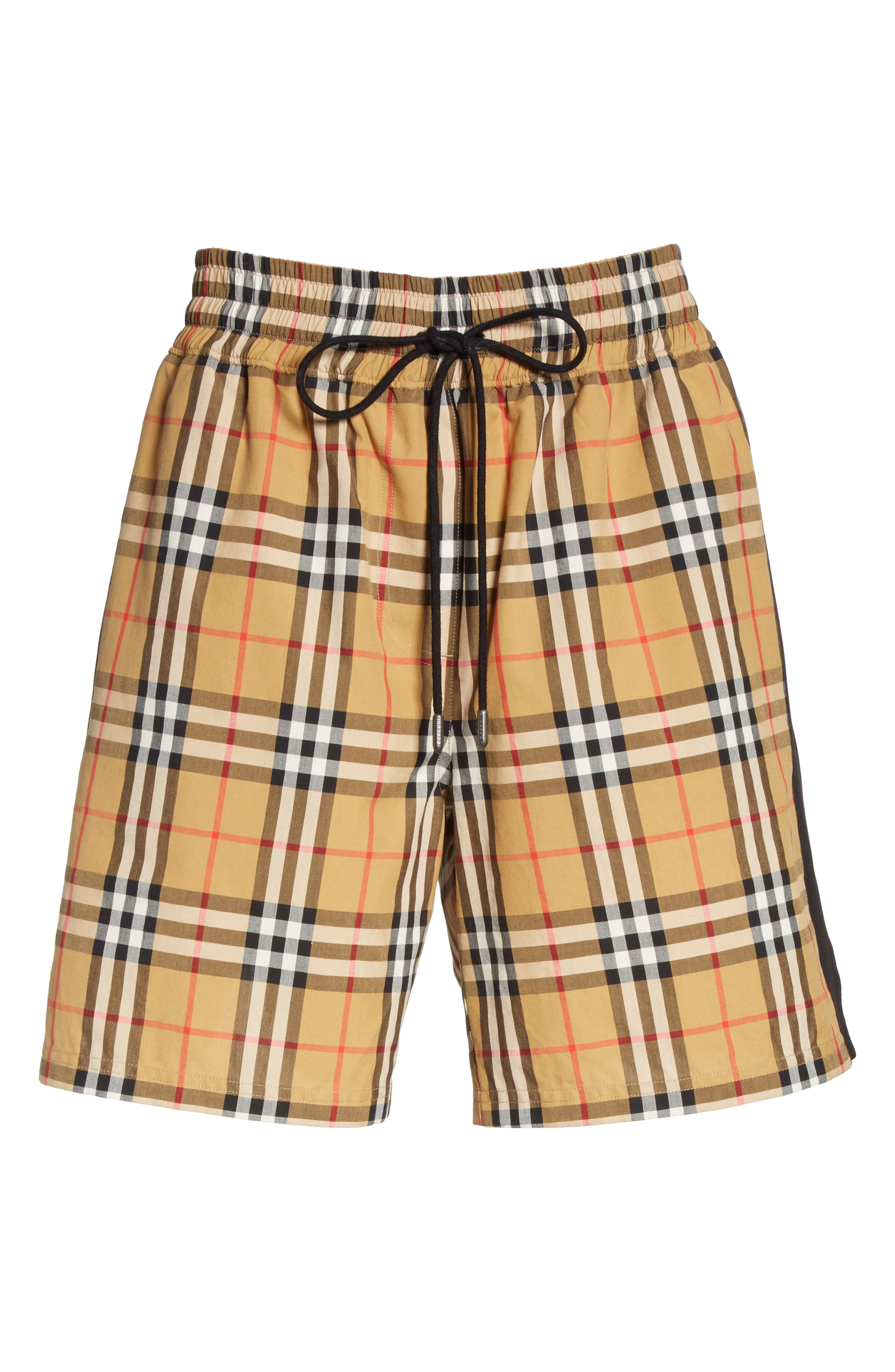 Dovemoore Cotton Shorts,                             Alternate thumbnail 7, color,                             ANTIQUE YELLOW
