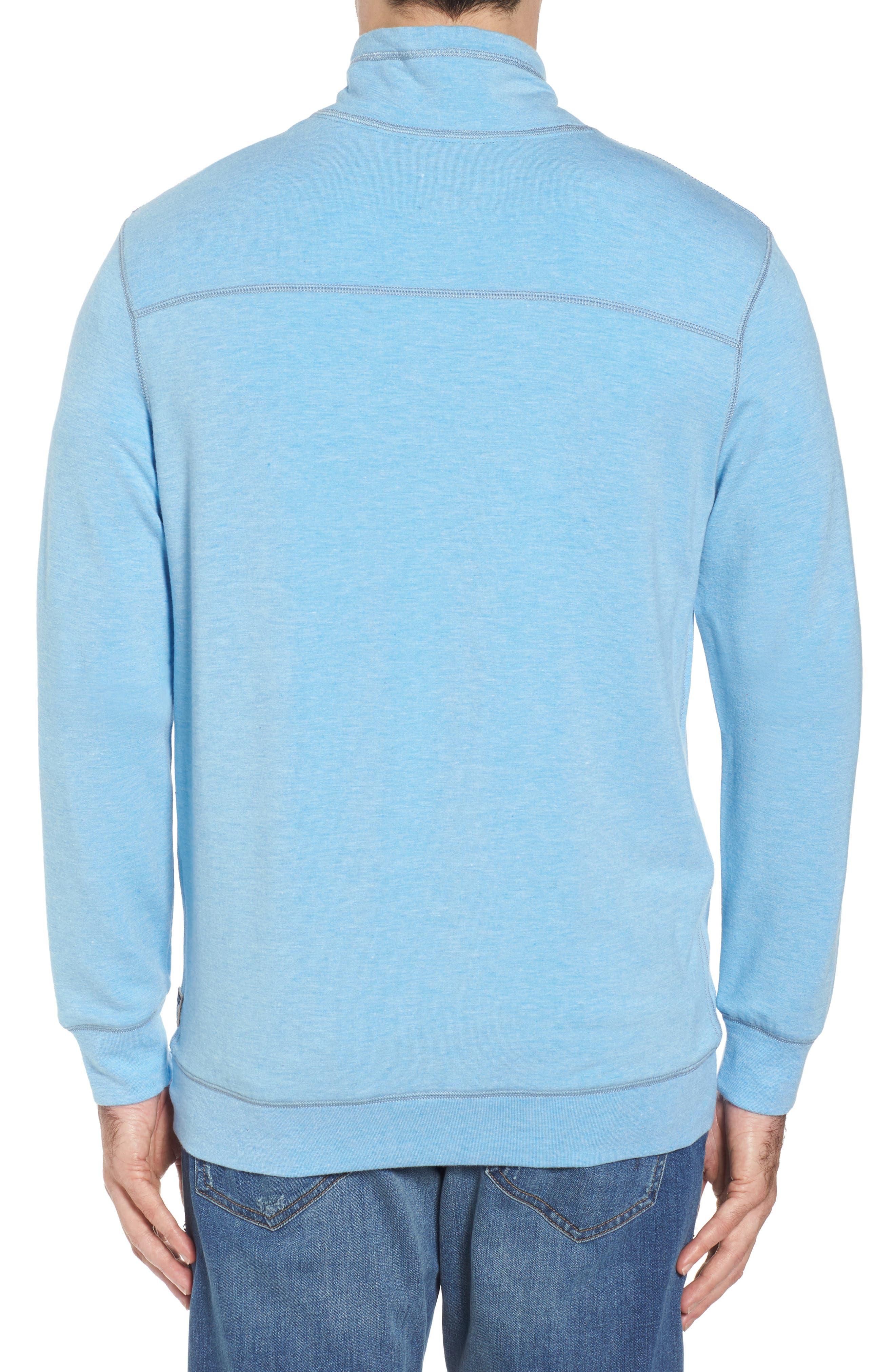 Brushback Quarter Zip Pullover,                             Alternate thumbnail 6, color,