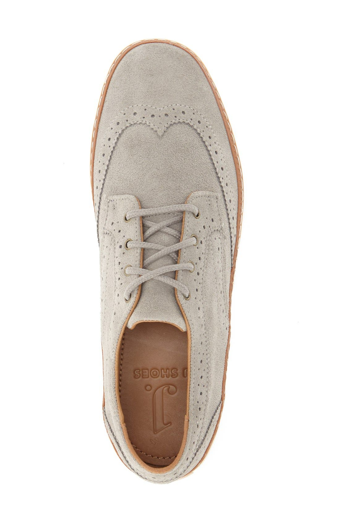 'Novello' Wingtip Sneaker,                             Alternate thumbnail 3, color,