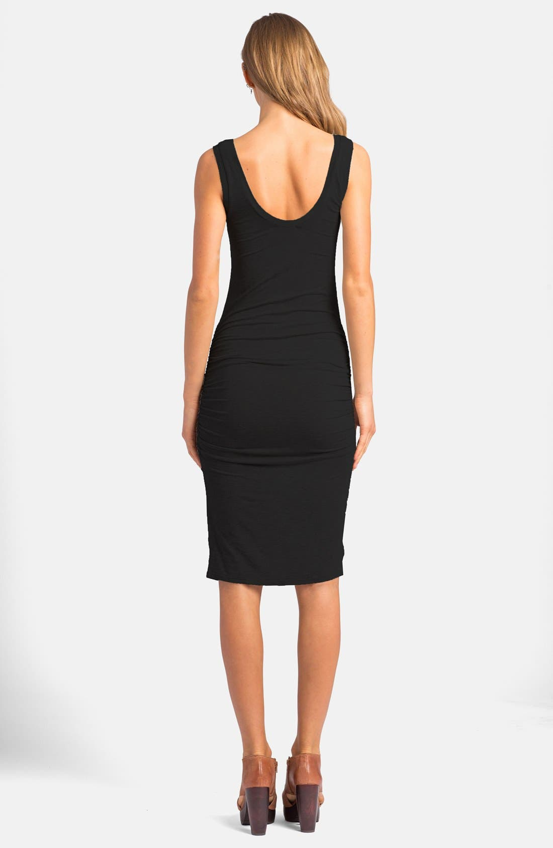 'Frankie' Ruched Tank Dress,                             Alternate thumbnail 17, color,