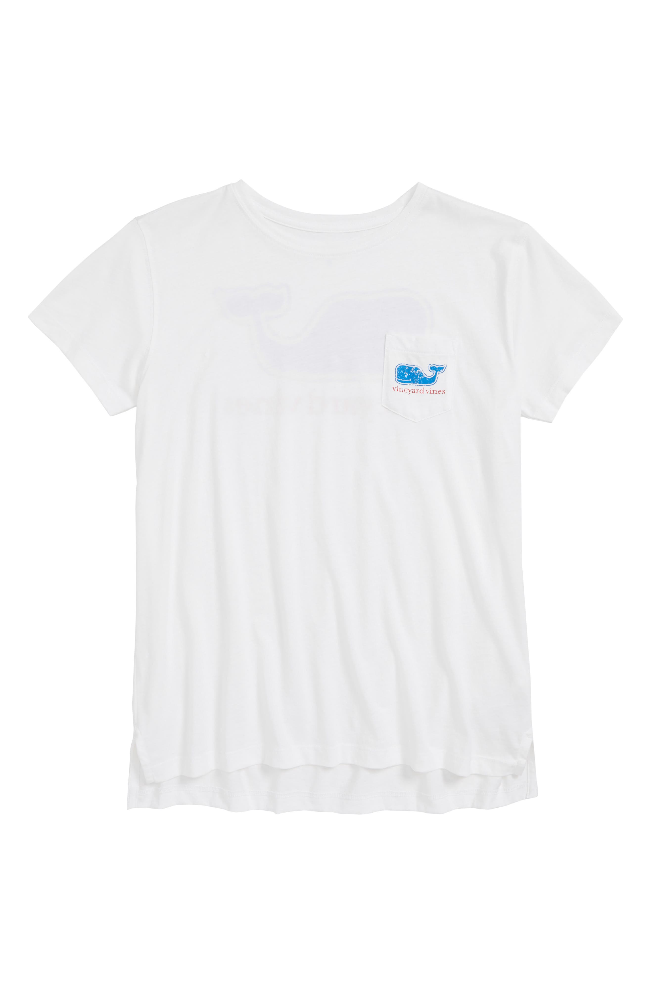 Vintage Whale Pocket Tee,                         Main,                         color, 100