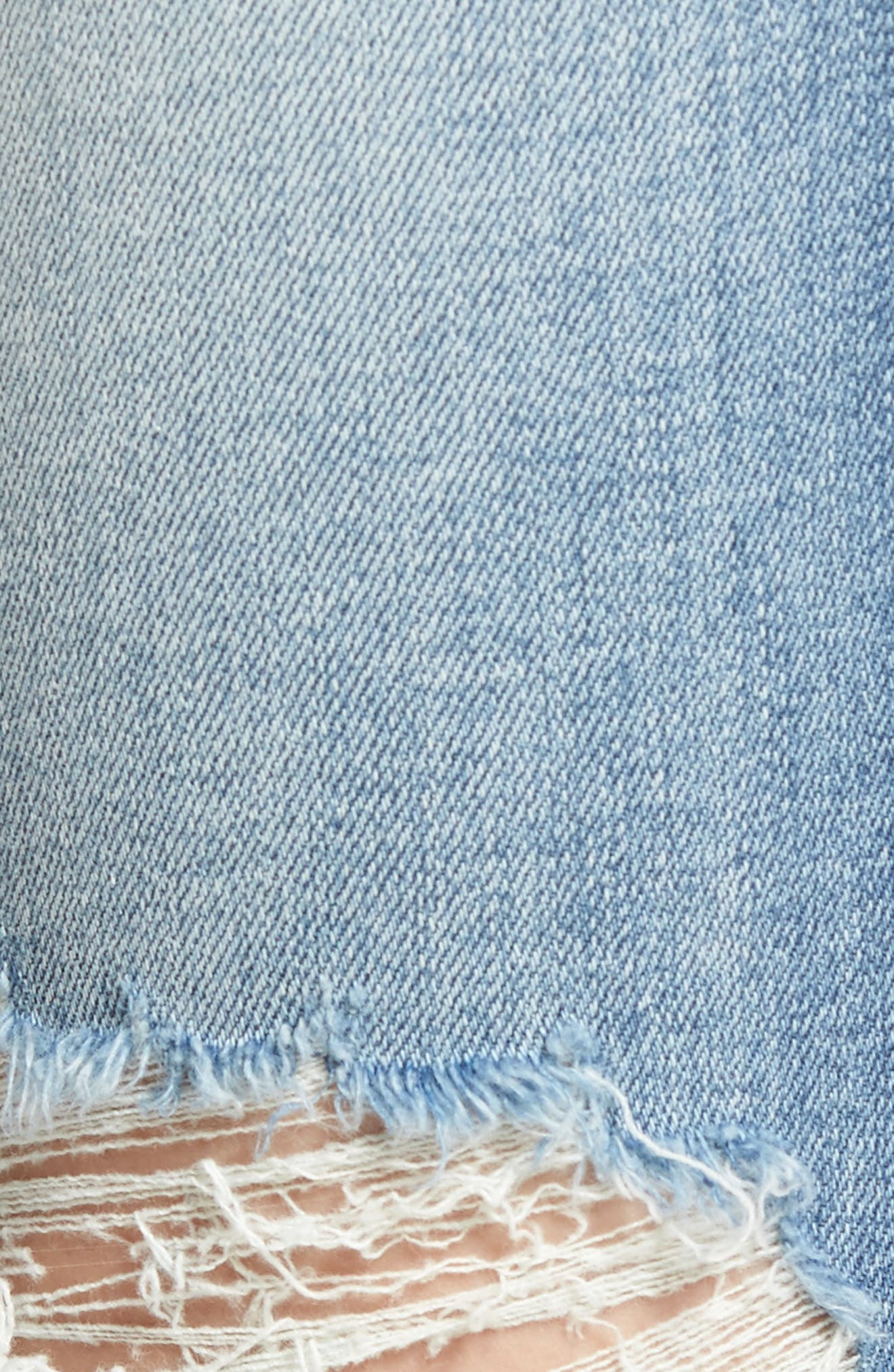 Emma Ripped Ankle Skinny Jeans,                             Alternate thumbnail 6, color,