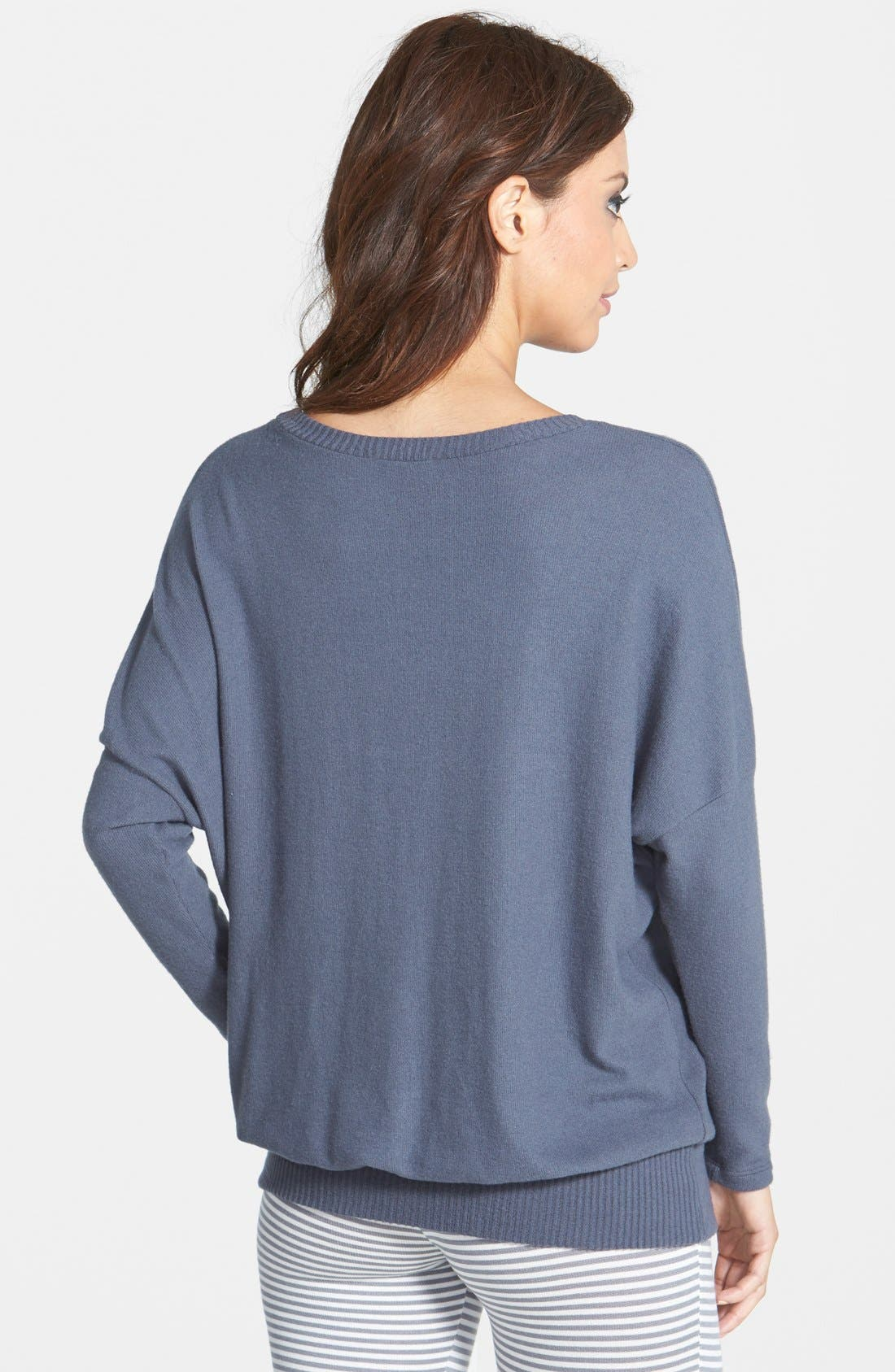 'Cozy Time' Slouchy Long Sleeve Tee,                             Alternate thumbnail 12, color,