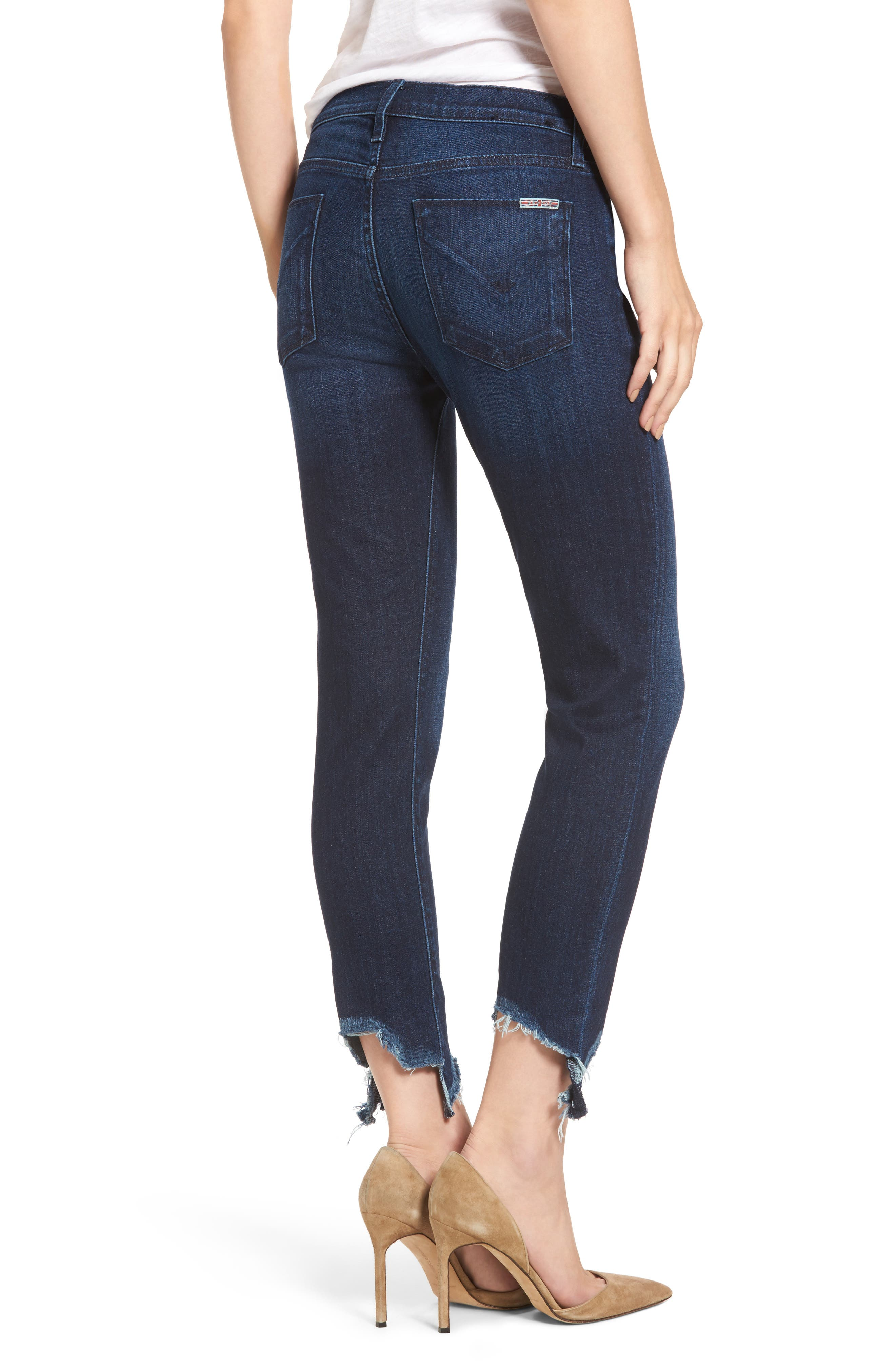 Tally Unfamed Hem Skinny Jeans,                             Alternate thumbnail 2, color,                             401
