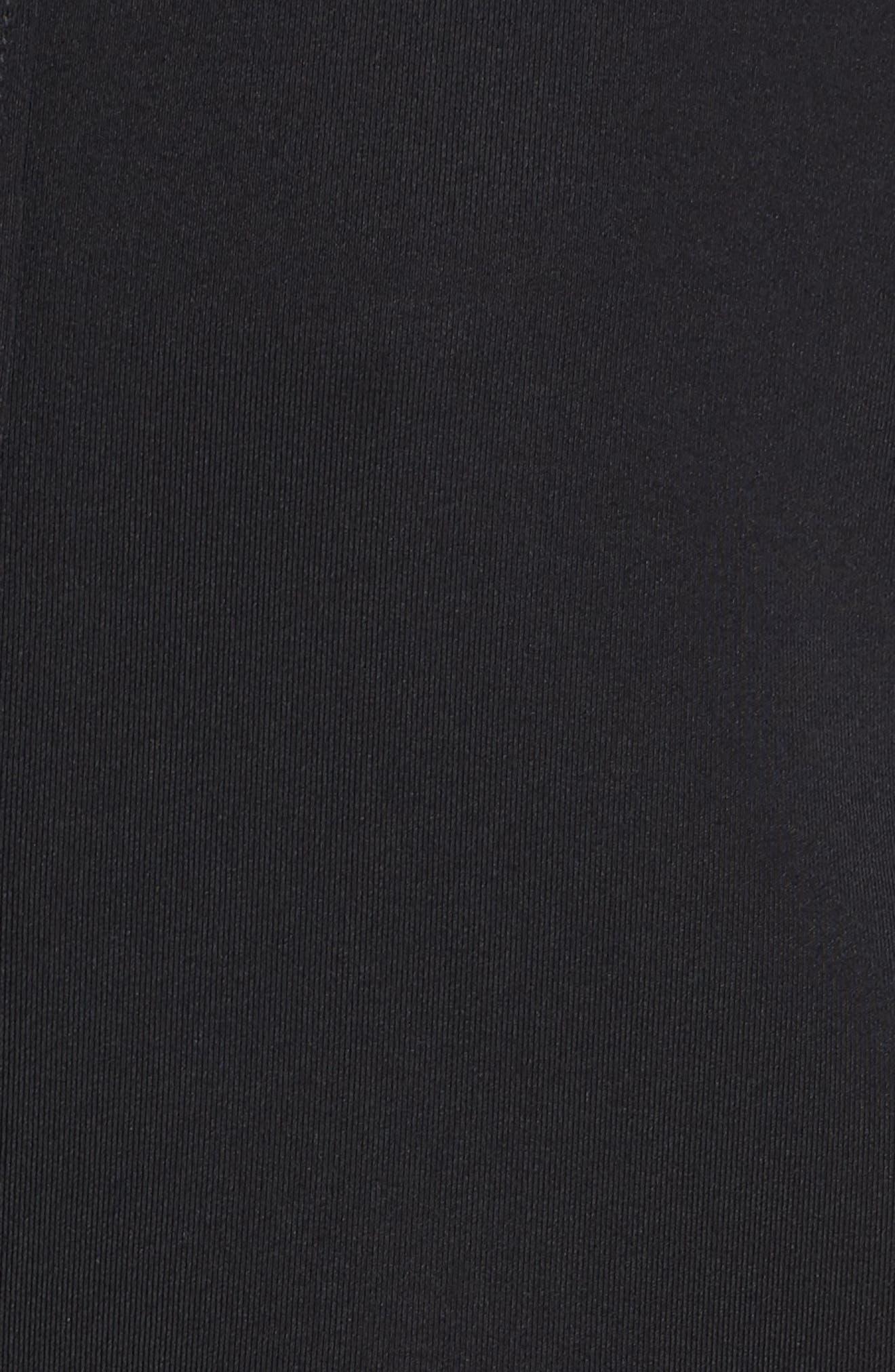 Captivate Kimono Sweatshirt,                             Alternate thumbnail 6, color,                             BLACK