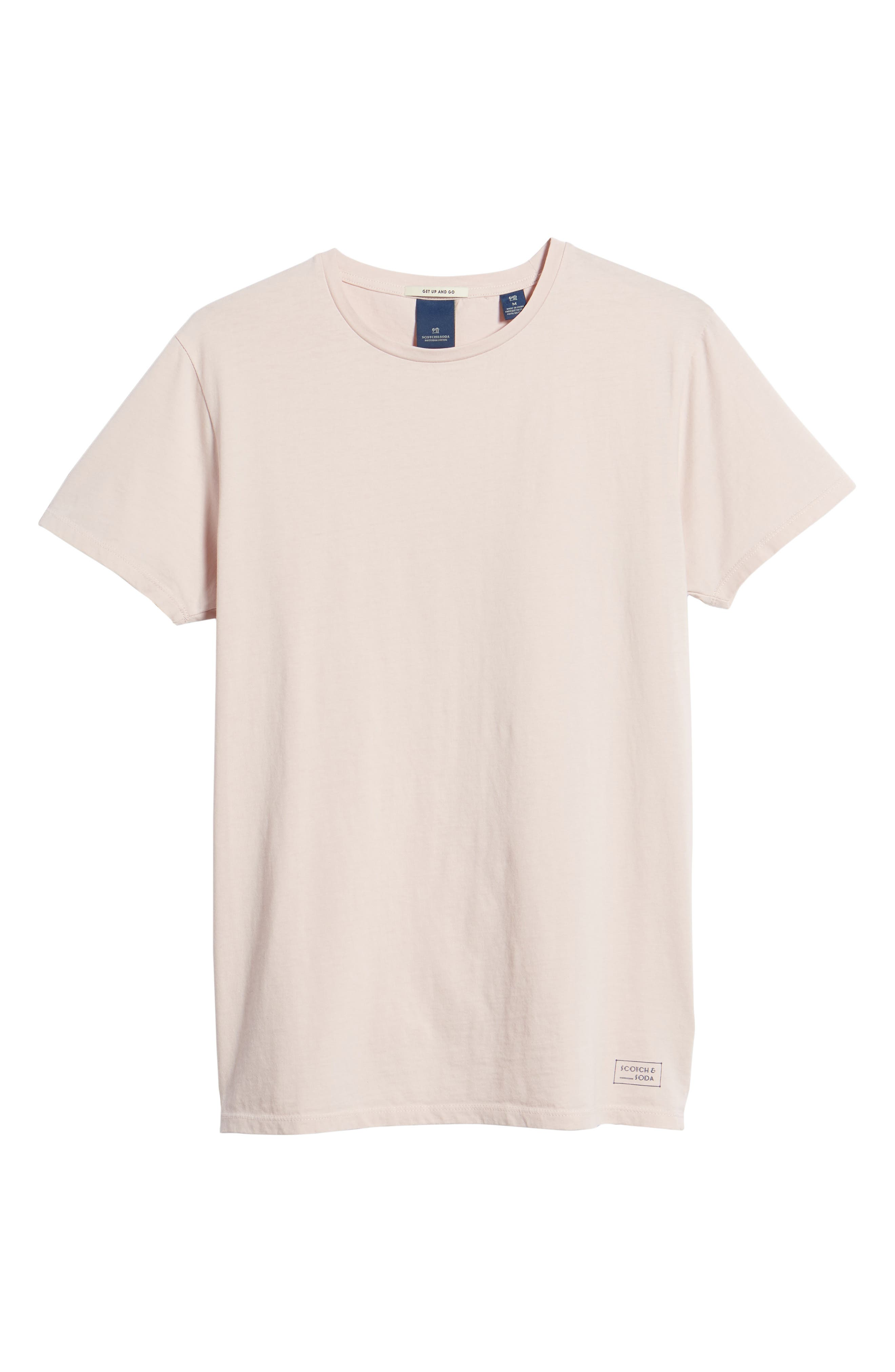Classic Crewneck T-Shirt,                             Alternate thumbnail 6, color,                             650