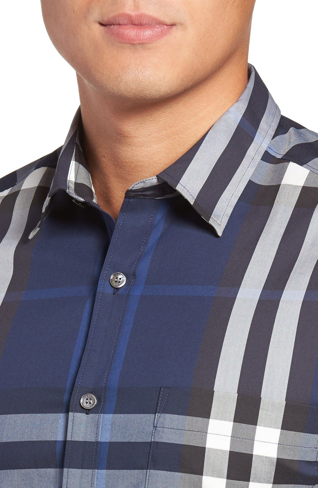 Nelson Check Sport Shirt,                             Alternate thumbnail 128, color,