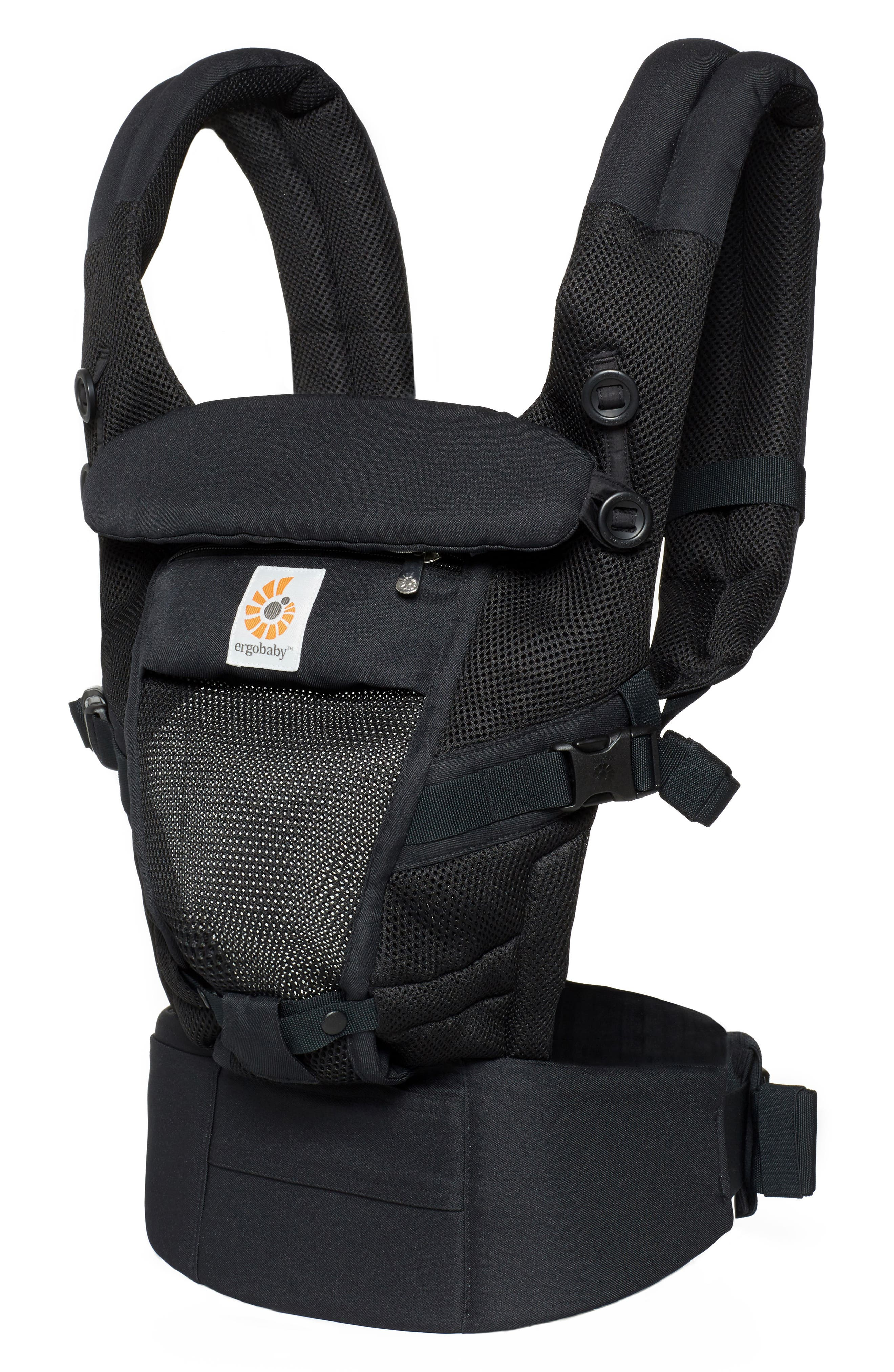 Three Position ADAPT Baby Carrier,                             Alternate thumbnail 2, color,                             ONYX BLACK