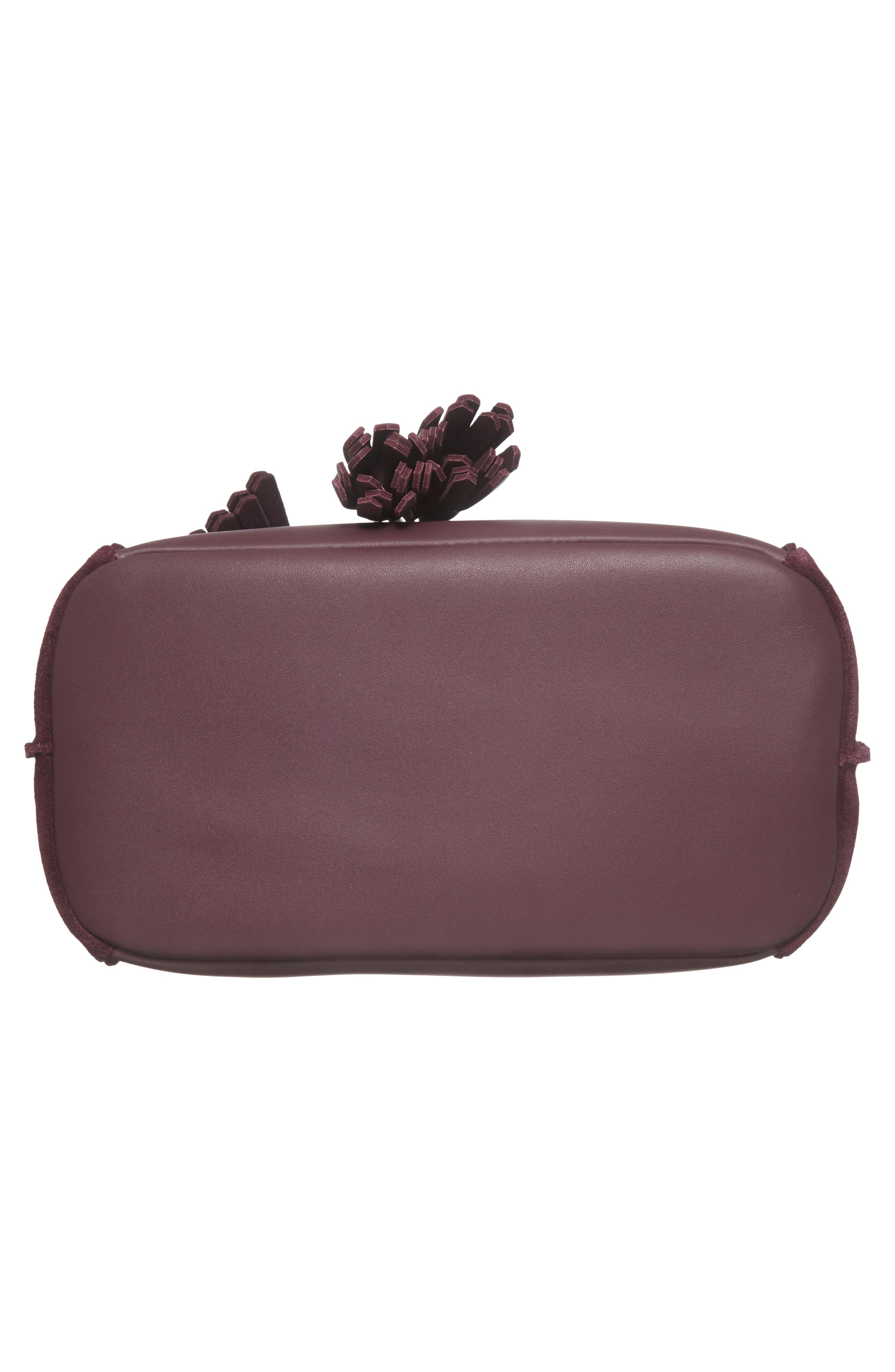 Penelope Fantasie Leather Bucket Bag,                             Alternate thumbnail 16, color,
