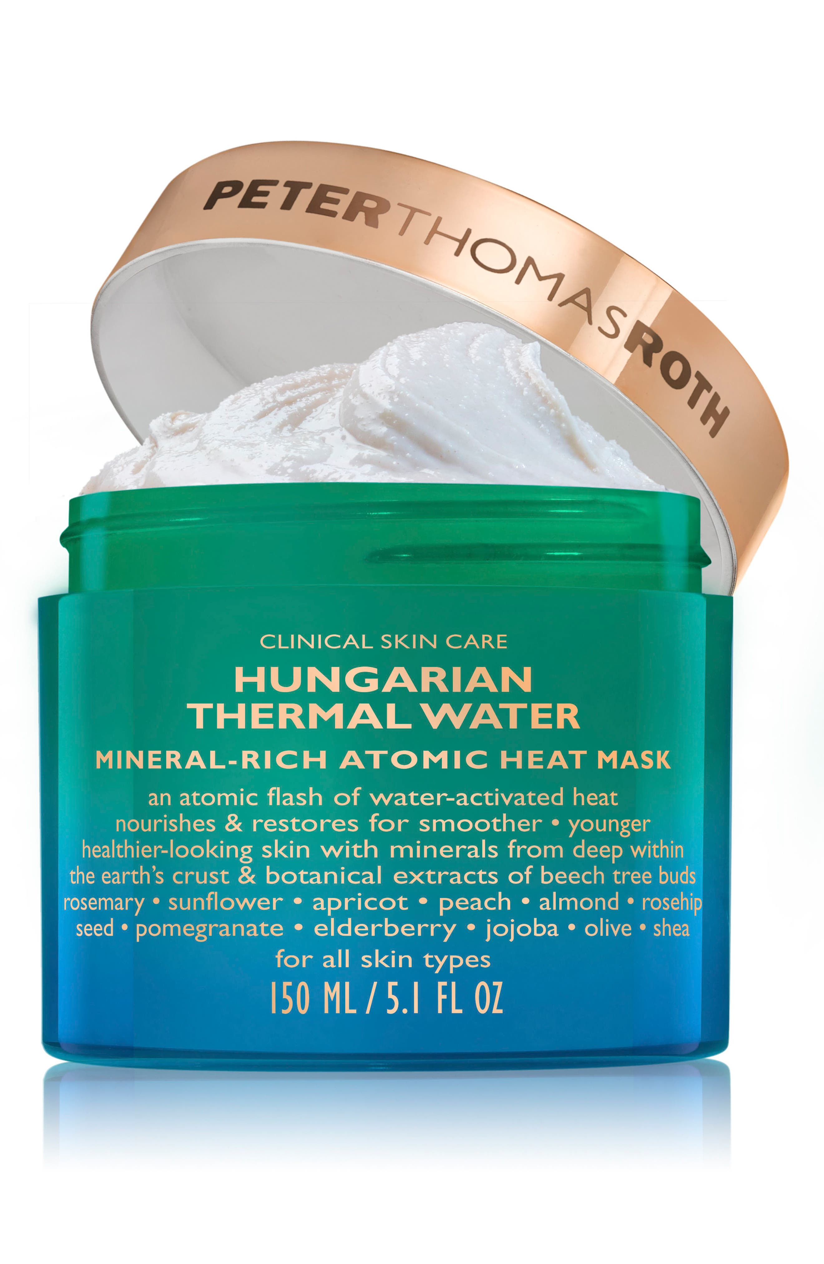 Hungarian Mineral Heat Mask,                             Alternate thumbnail 2, color,                             NO COLOR