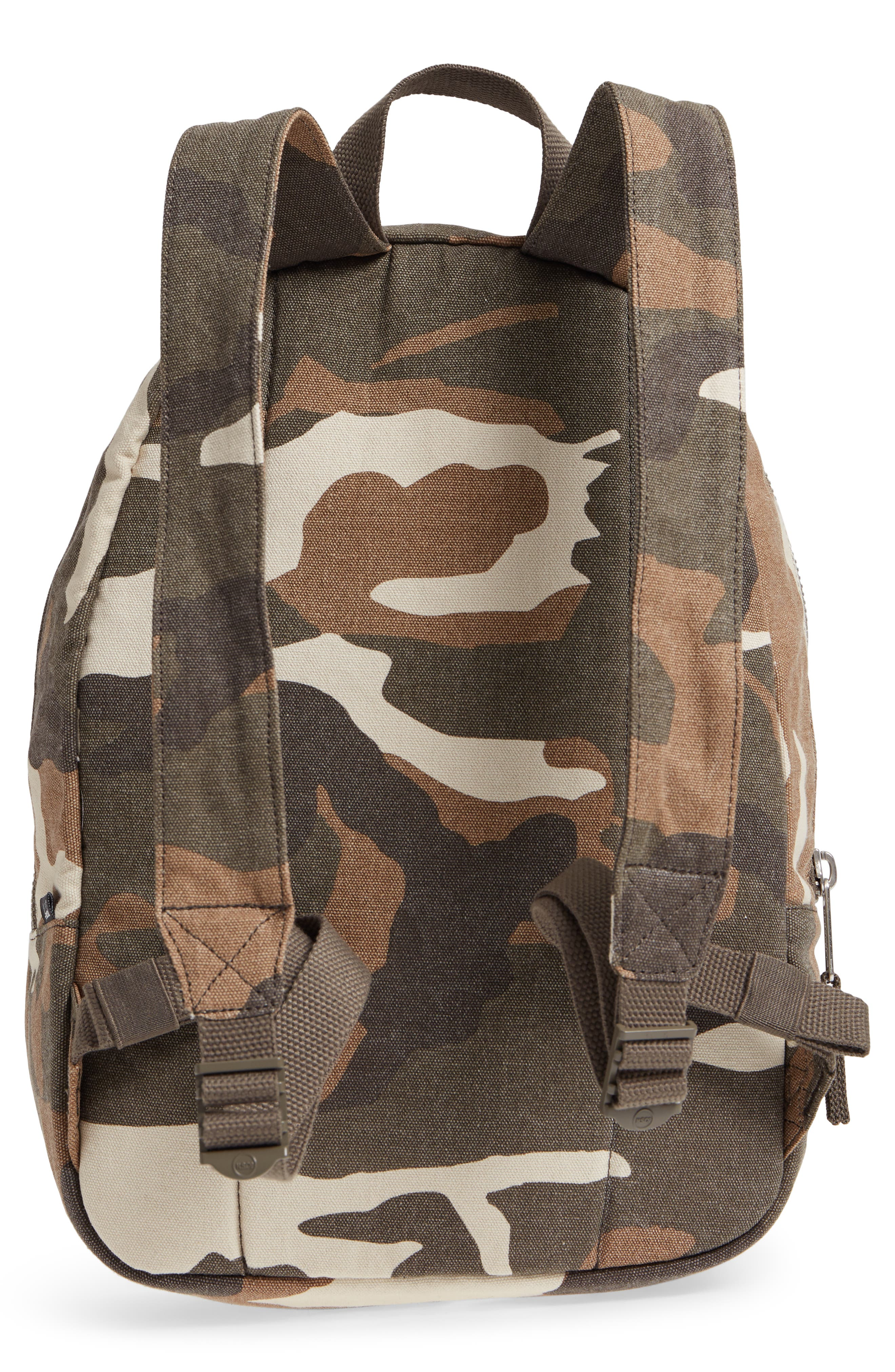 X-Small Grove Cotton Canvas Backpack,                             Alternate thumbnail 11, color,