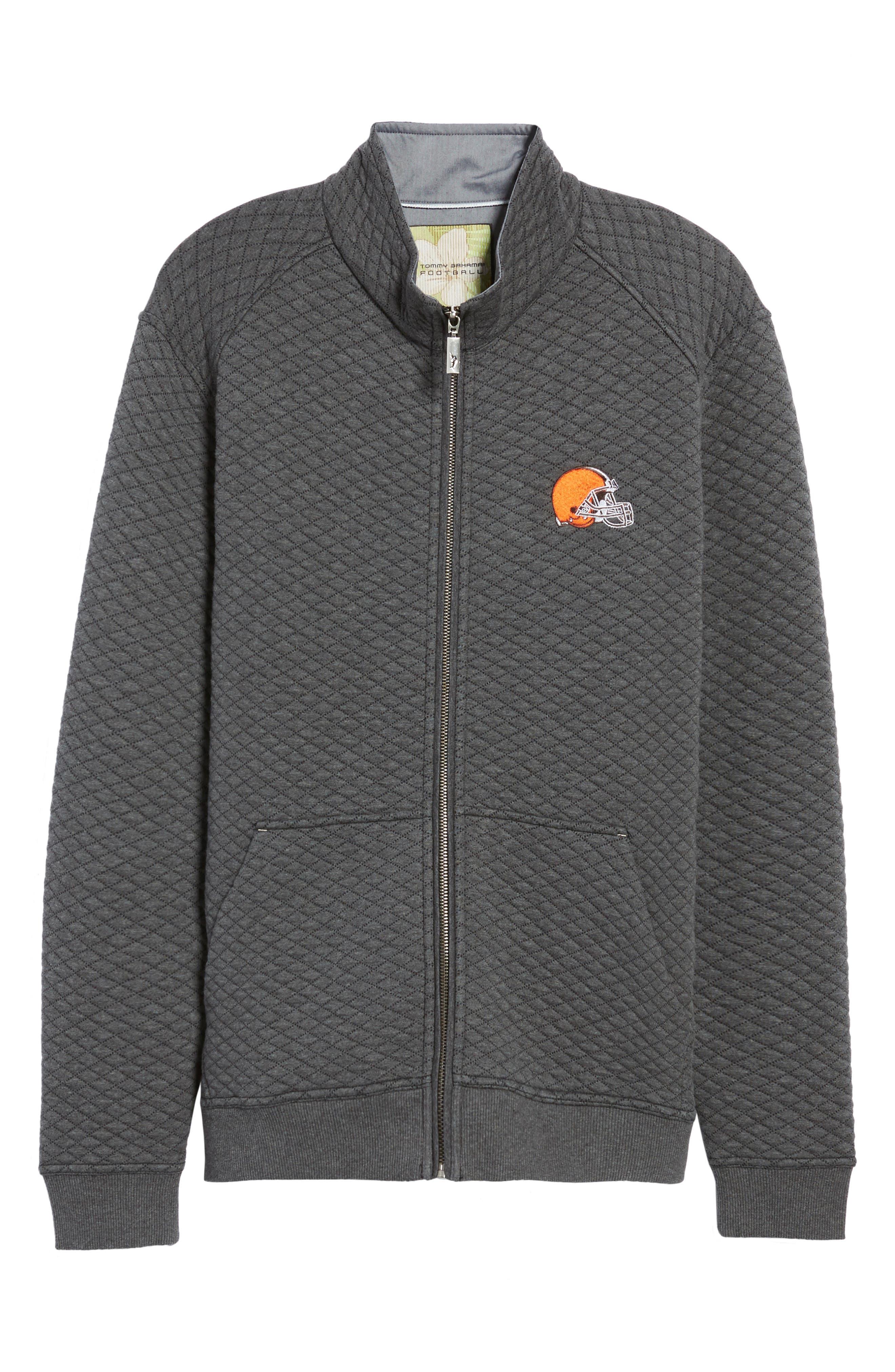 NFL Quiltessential Full Zip Sweatshirt,                             Alternate thumbnail 162, color,