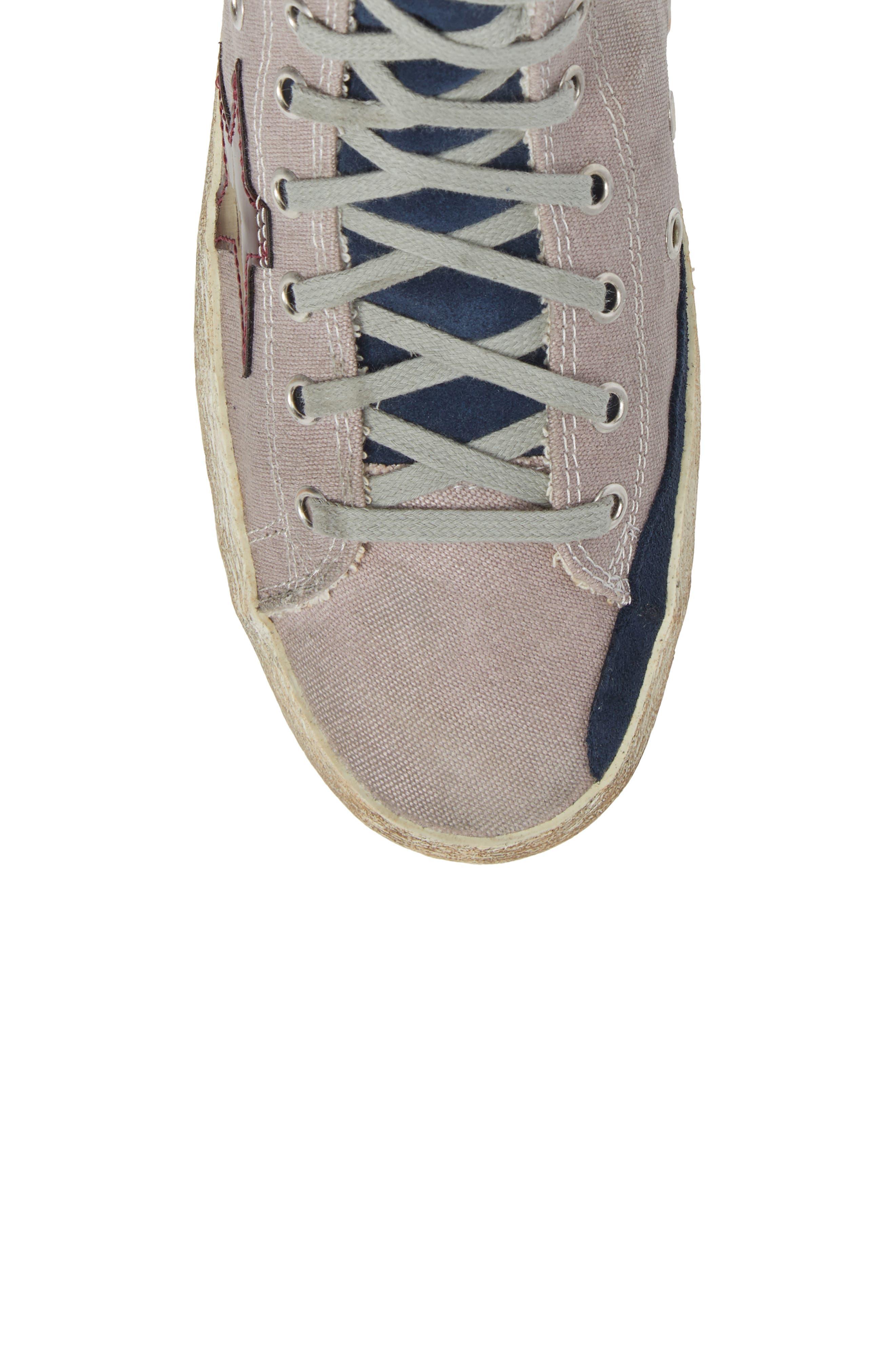 Francy Mid Top Sneaker,                             Alternate thumbnail 5, color,                             530