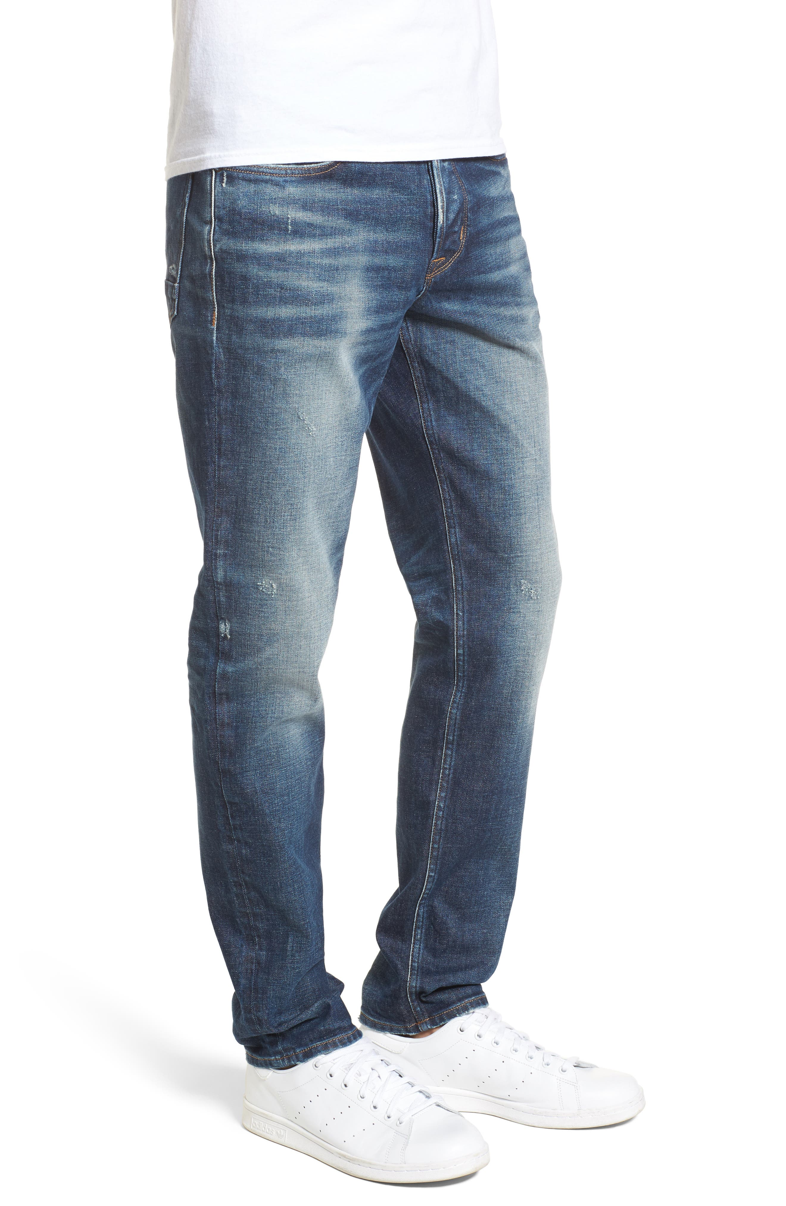Sartor Slouchy Skinny Fit Jeans,                             Alternate thumbnail 3, color,                             427