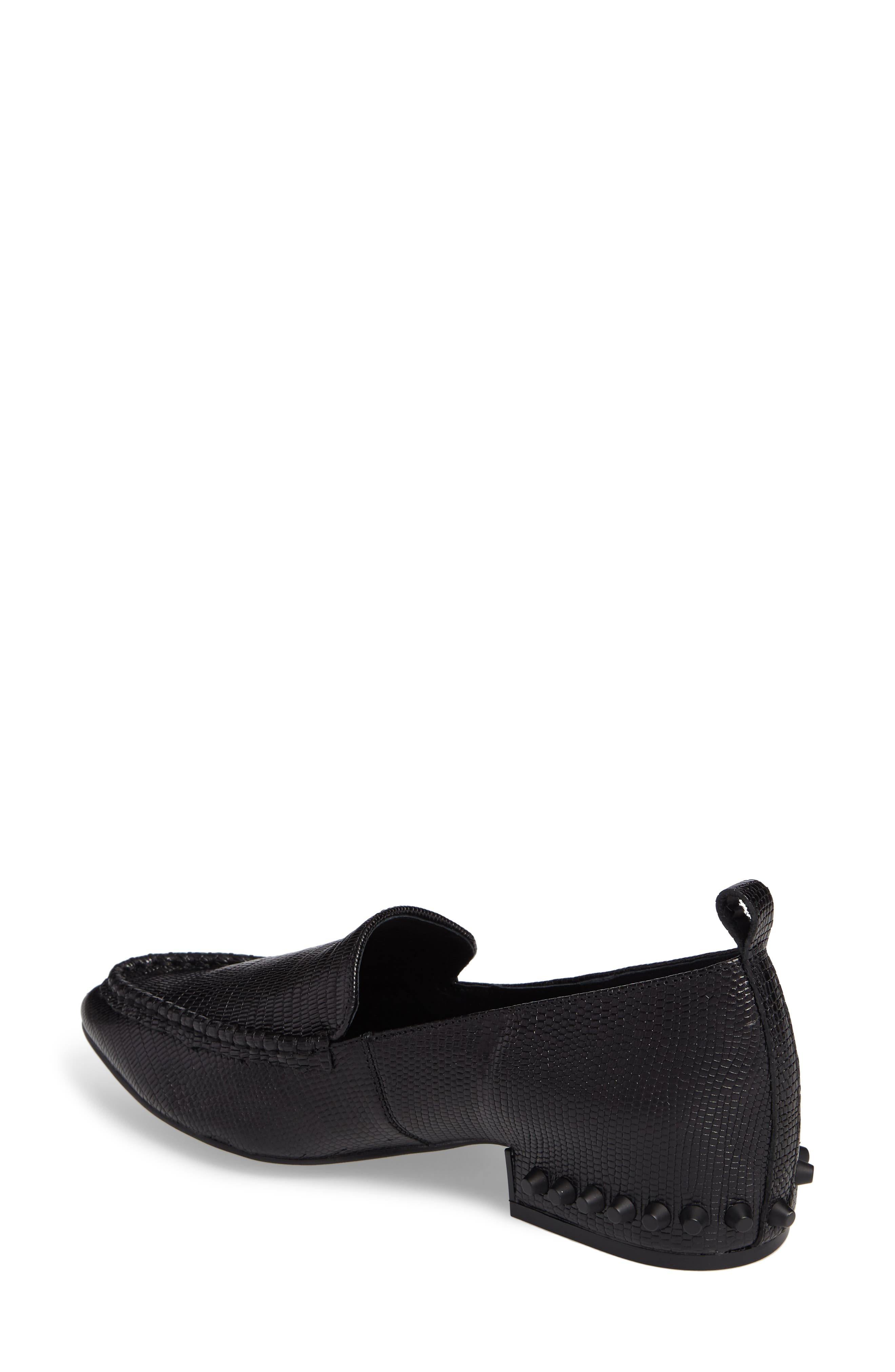 Barnett Studded Loafer,                             Alternate thumbnail 2, color,                             002