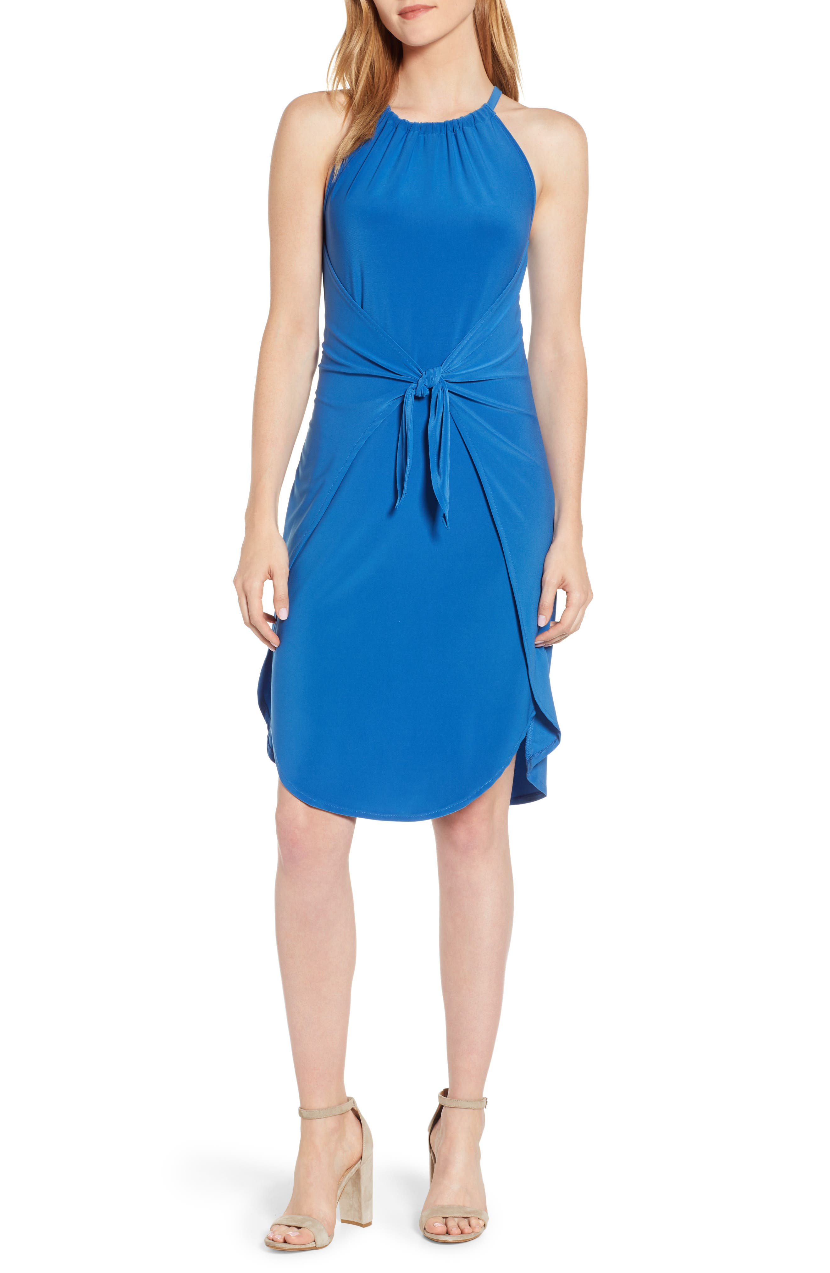 1.state Tie Front Dress, Blue