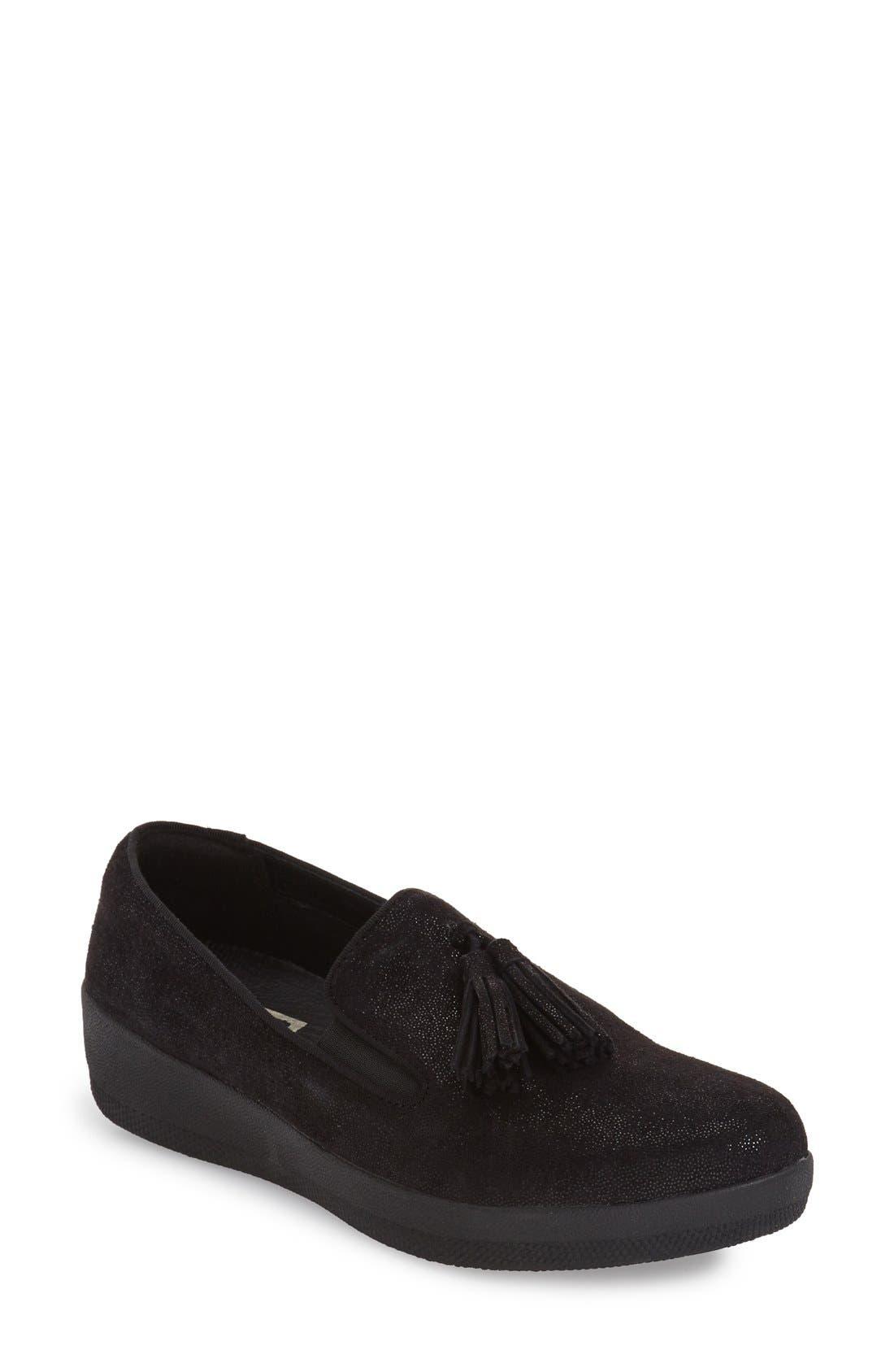 Tassle Superskate Wedge Sneaker,                             Main thumbnail 2, color,