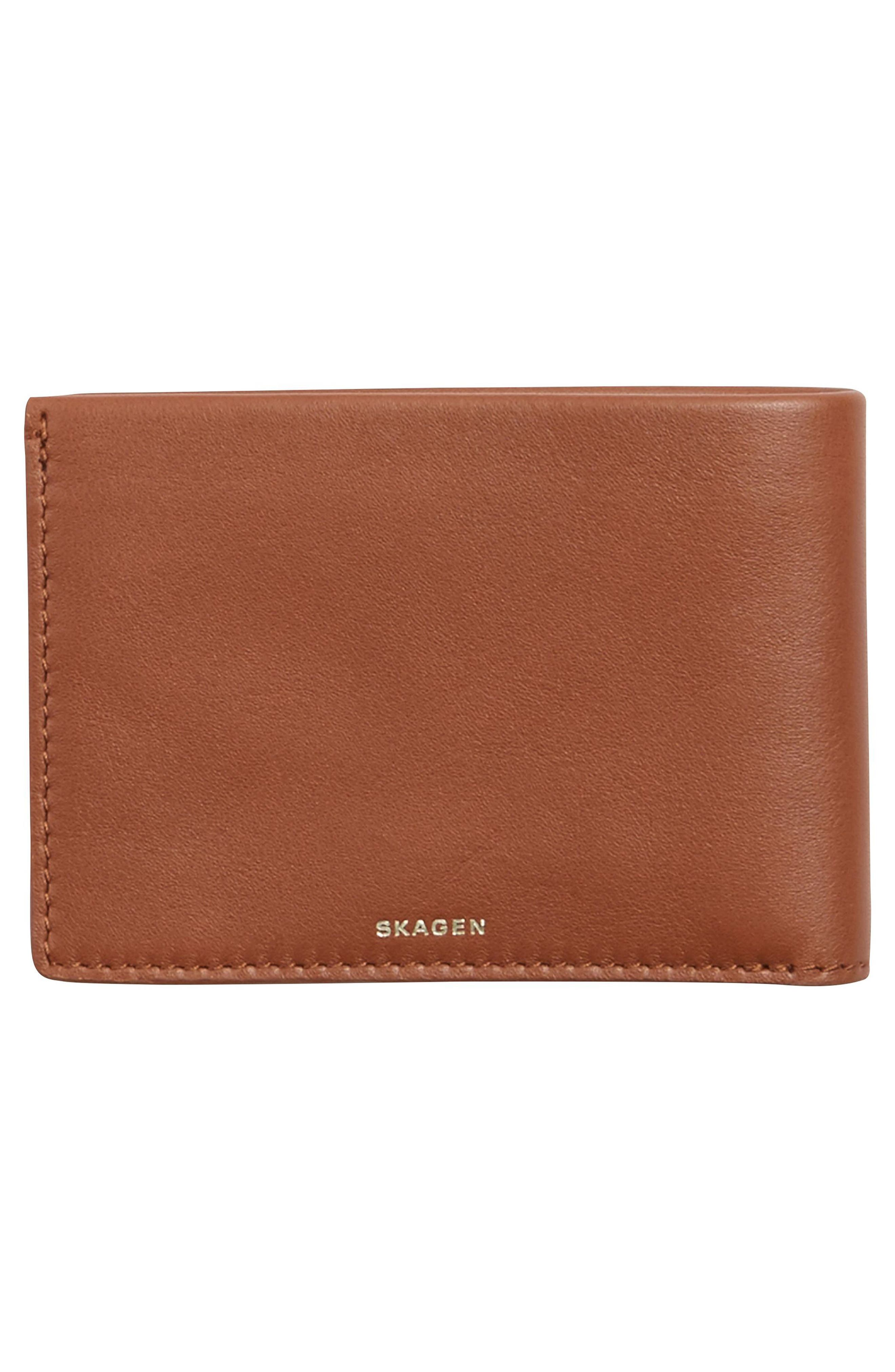 Leather Wallet,                             Alternate thumbnail 3, color,                             222