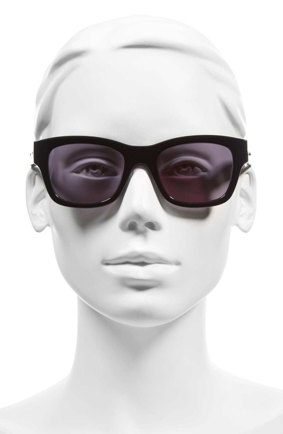 'The Ellie' 51mm Sunglasses,                             Alternate thumbnail 2, color,                             001