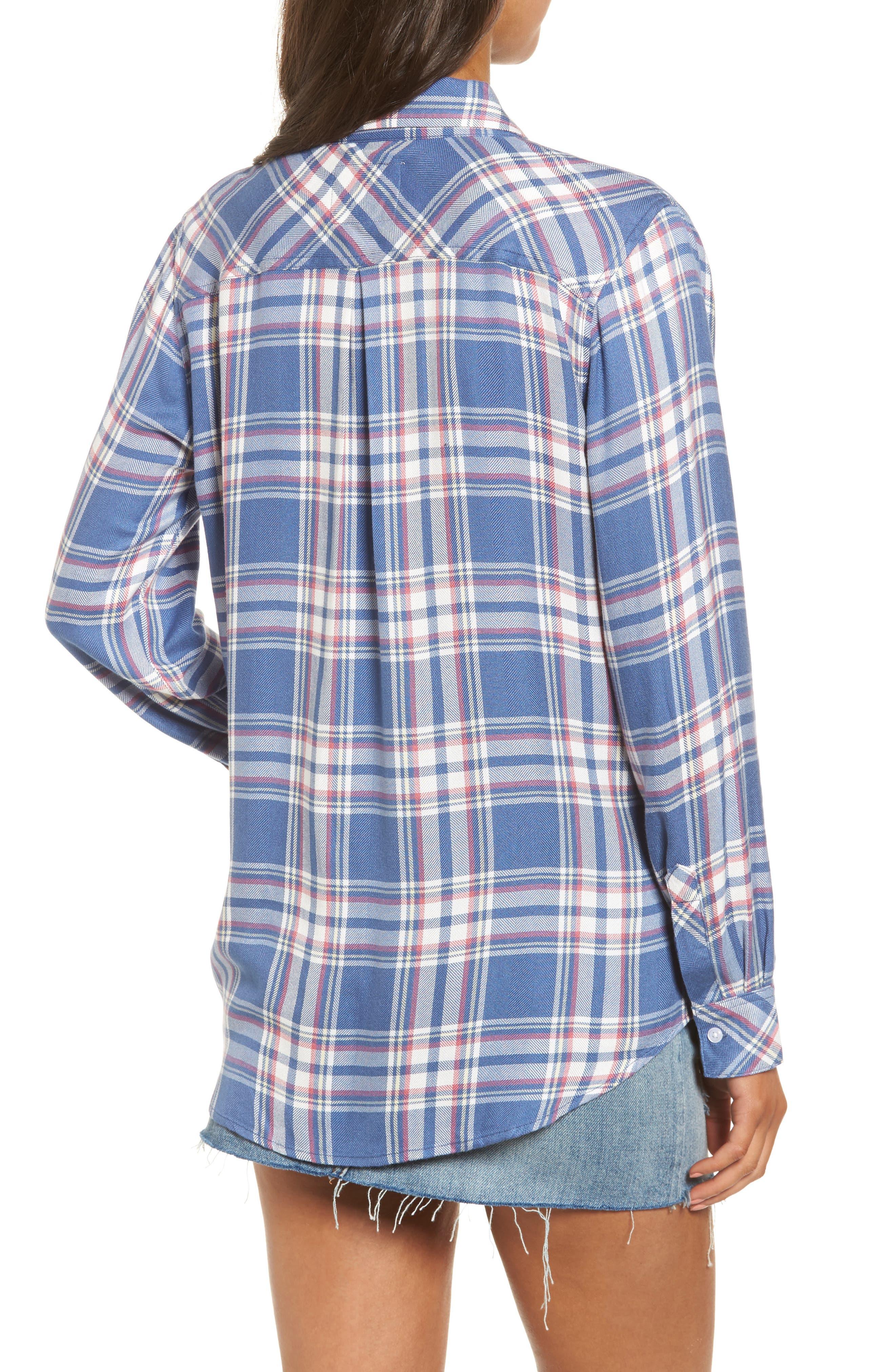 Hunter Plaid Shirt,                             Alternate thumbnail 198, color,