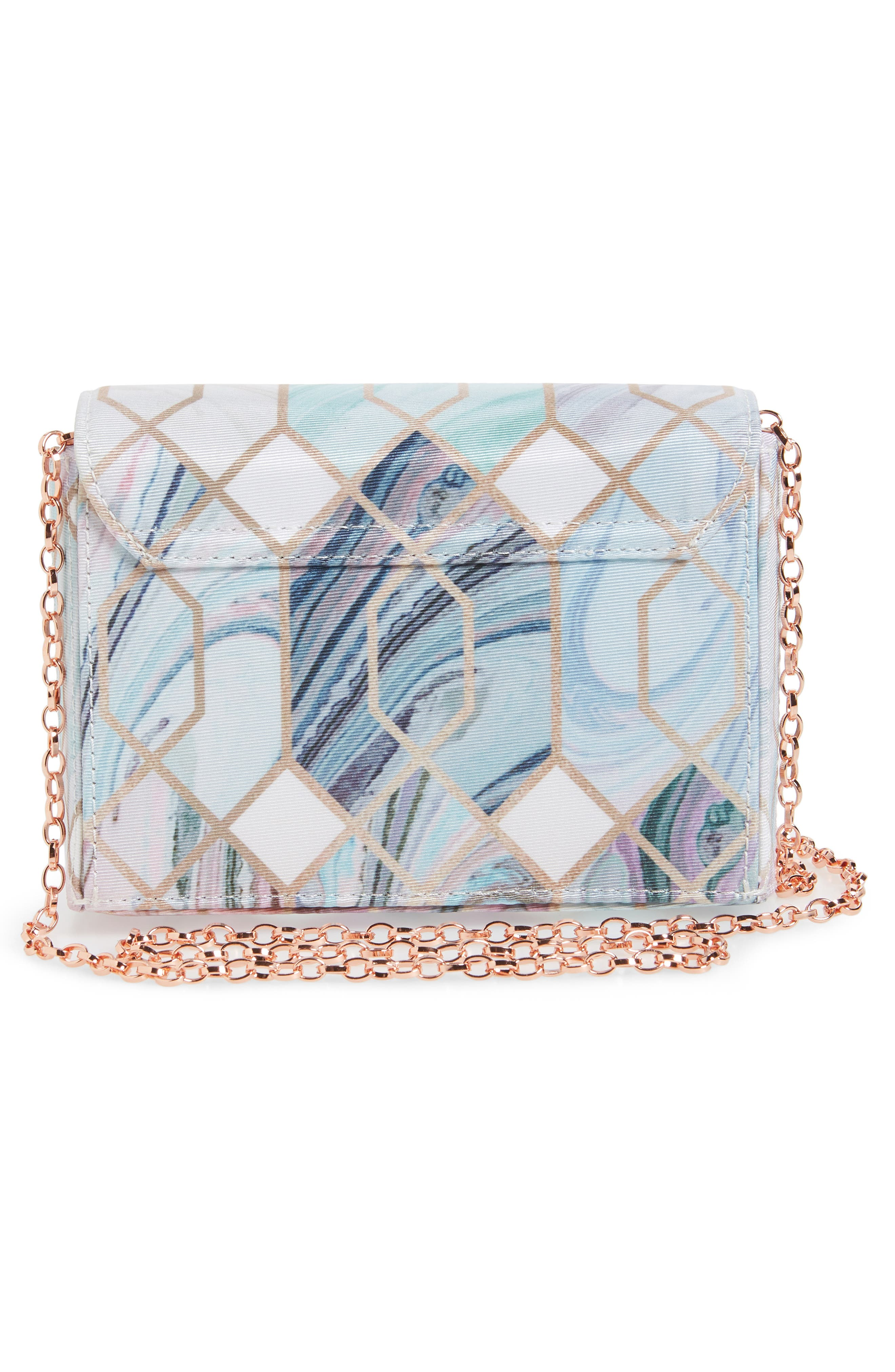 Nikiita Sea of Clouds Evening Bag,                             Alternate thumbnail 3, color,