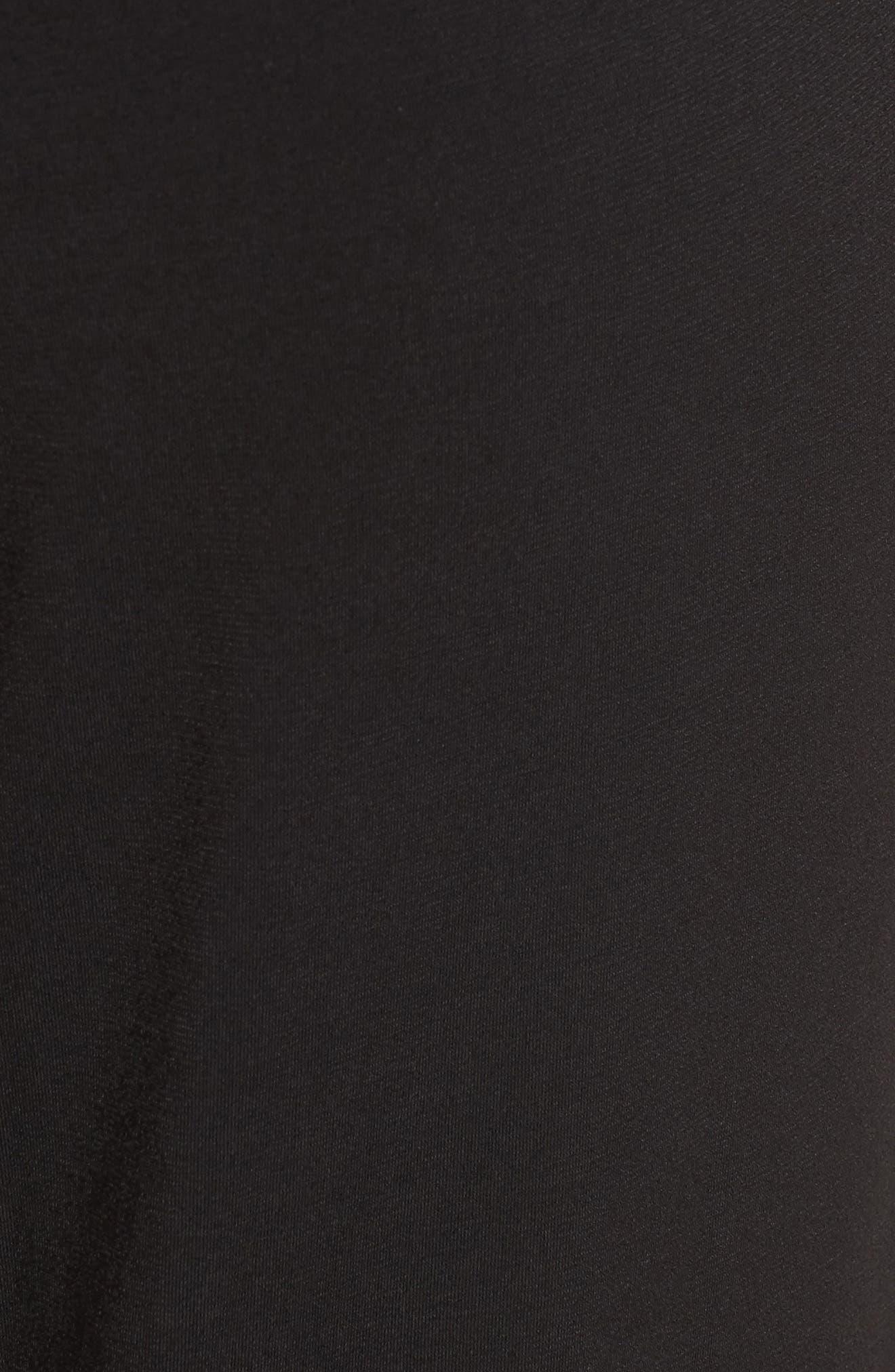 Side Lace-Up Jumpsuit,                             Alternate thumbnail 5, color,                             001